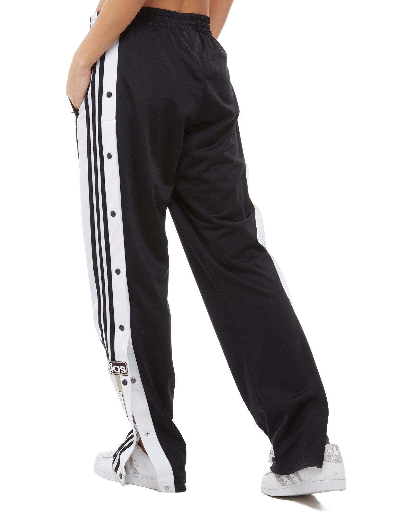 a0deb5001a9 adidas Originals Adibreak Popper Pants in Black - Lyst