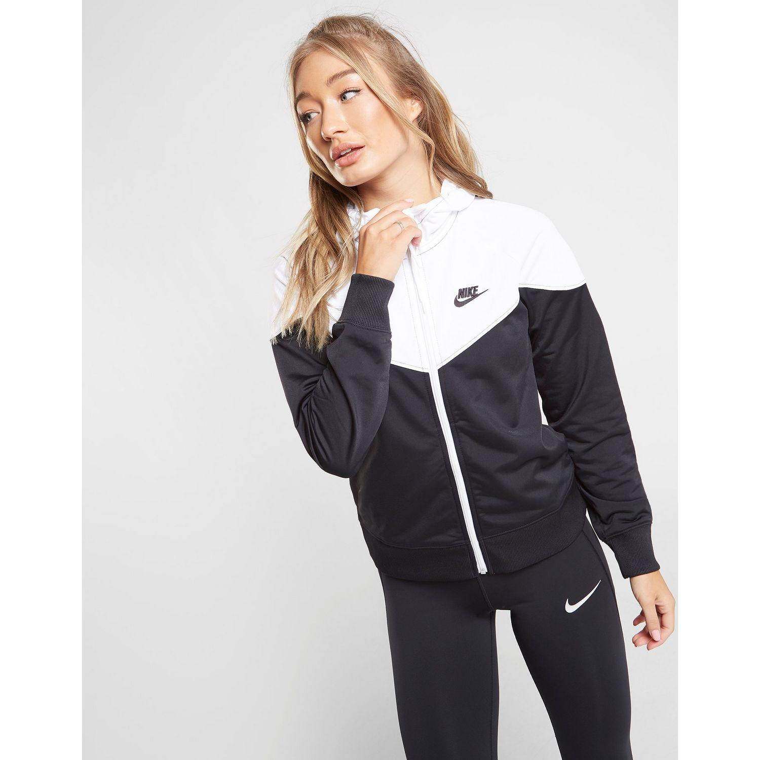 Variante divorcio Mamut  Nike Synthetic Heritage Colour Block Poly Full Zip Hoodie - Lyst