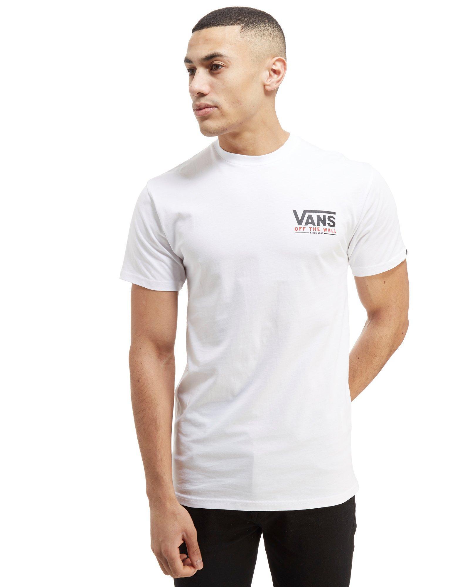 87d058e98c91e1 Vans Carter T-shirt in White for Men - Lyst