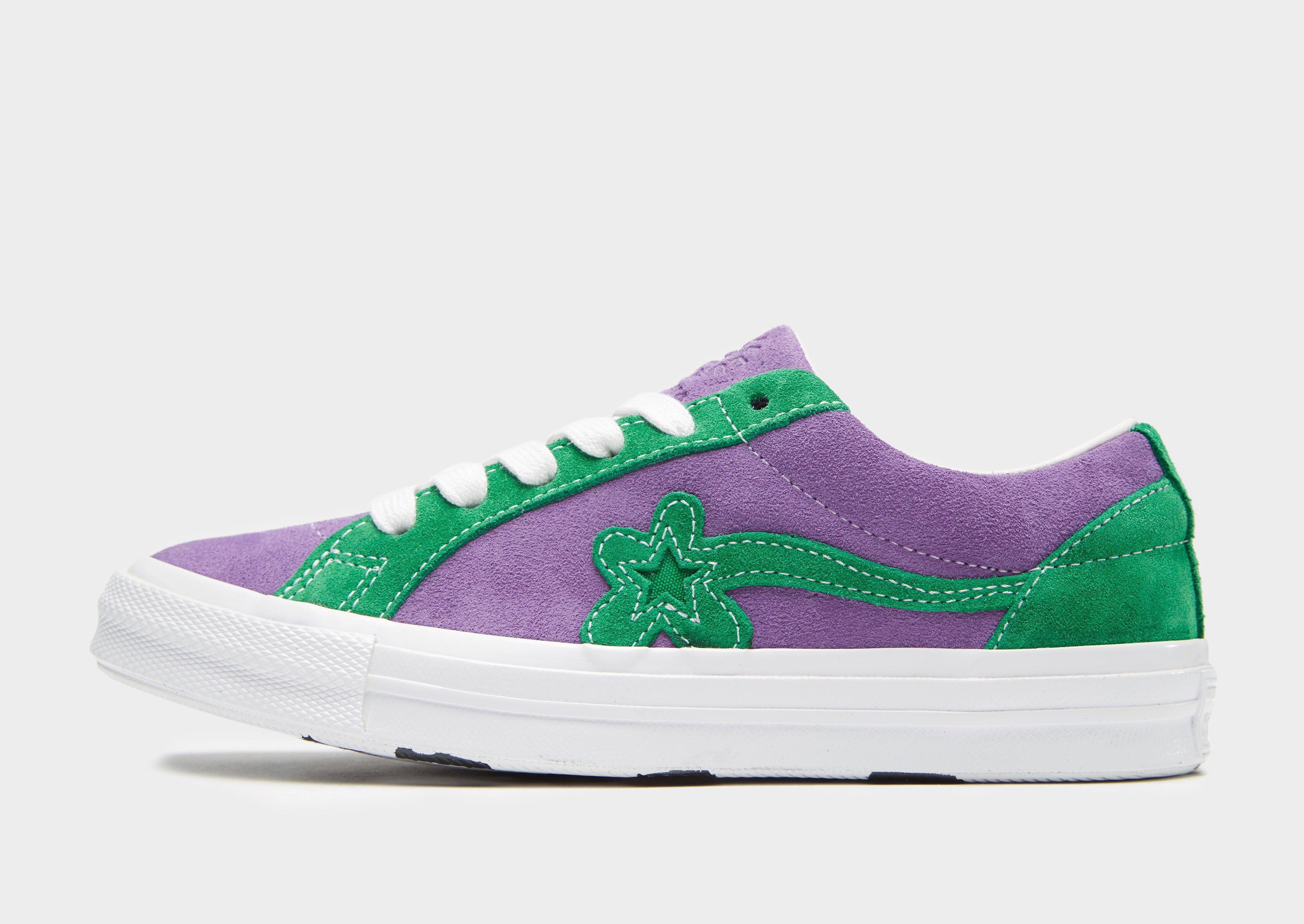 Converse X Tyler Golf Le Fleur One Star in Green - Lyst 3abeec1e8