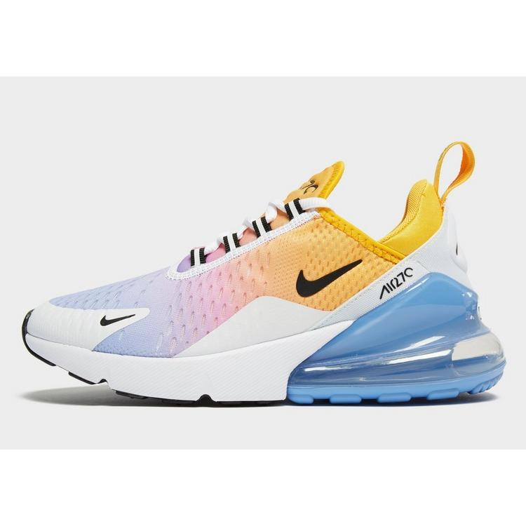Nike Rubber Air Max 270 W In Yellow Blue White Pink Blue Lyst
