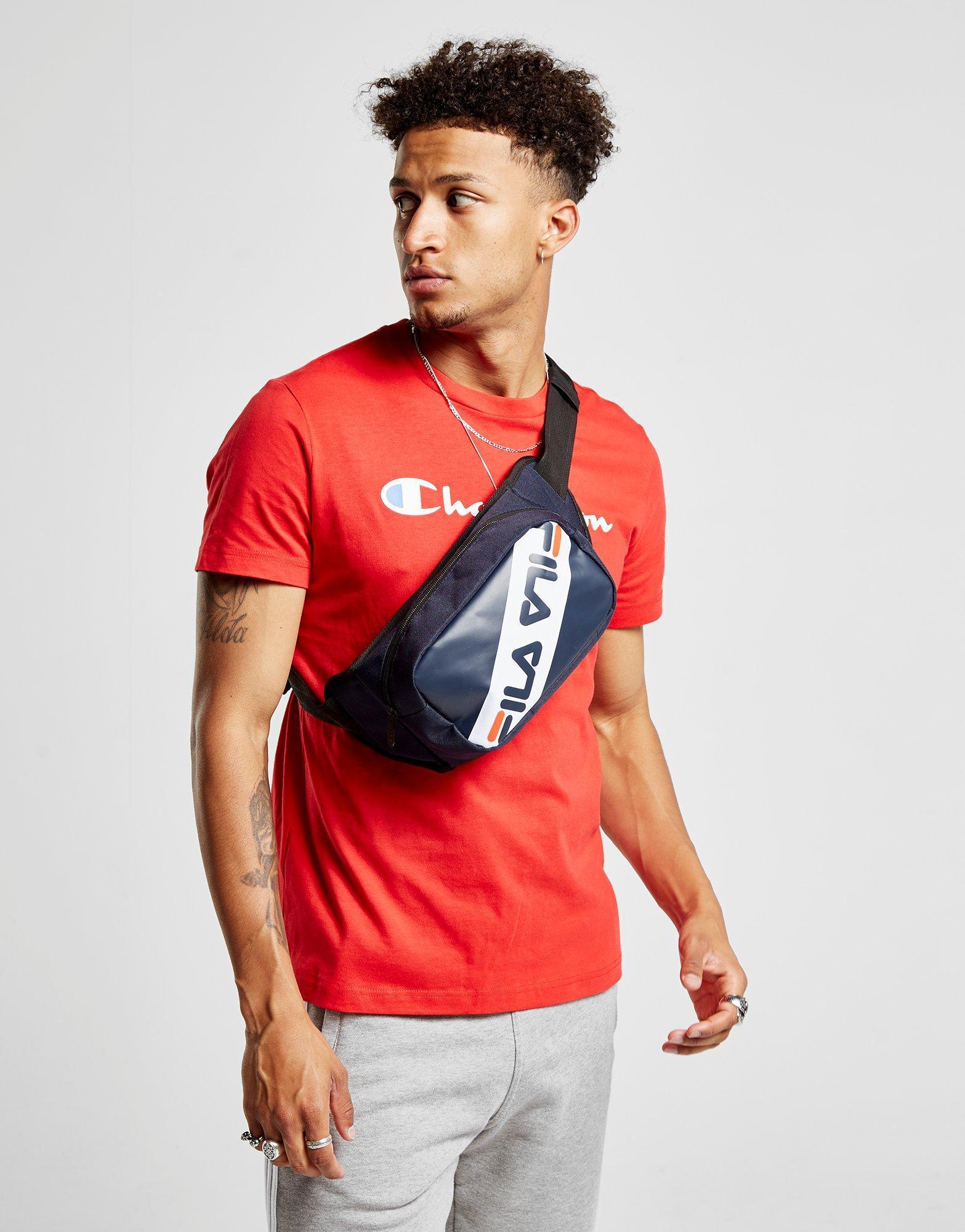 fuga de la prisión una taza de collar  Fila Synthetic Ola Waist Bag in Blue for Men - Lyst