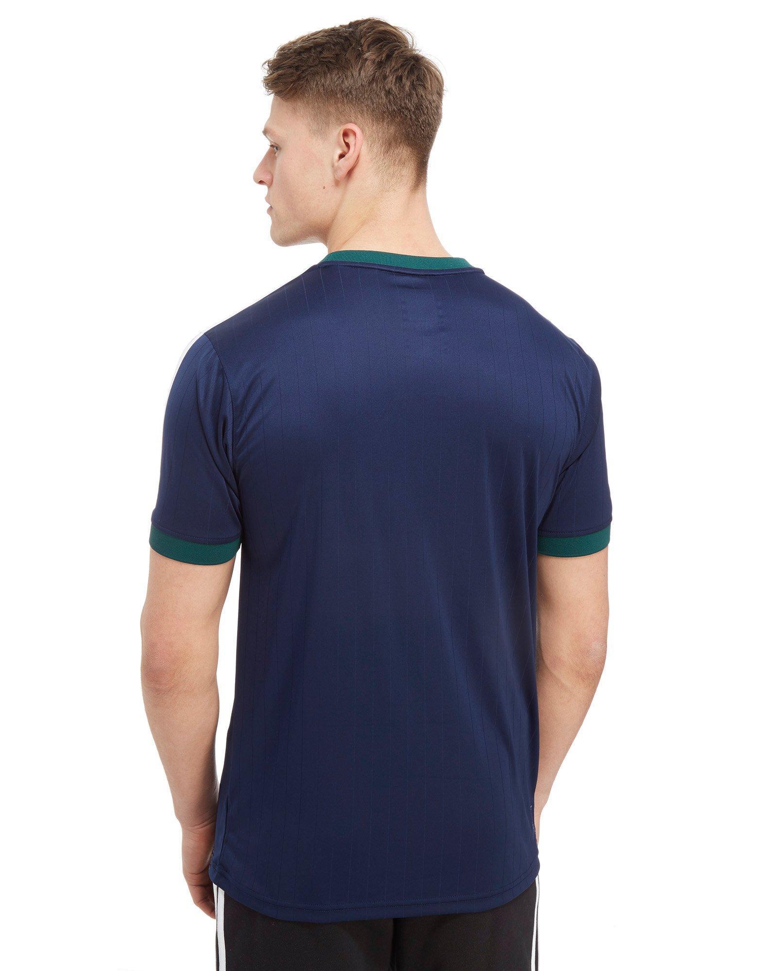 Adidas Originals Blue Skateboarding Poly California T shirt for men