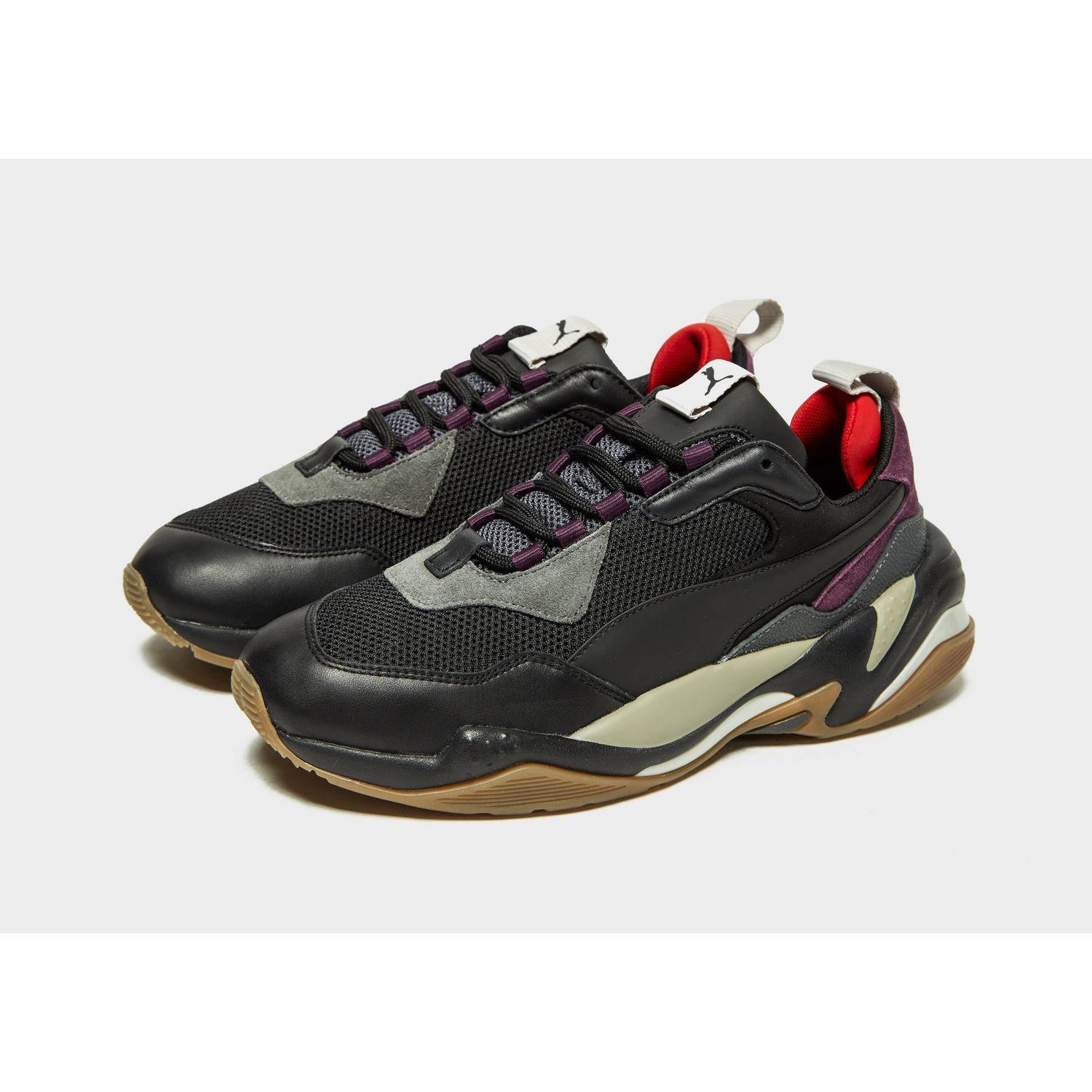 PUMA Leather Thunder Spectra in Black