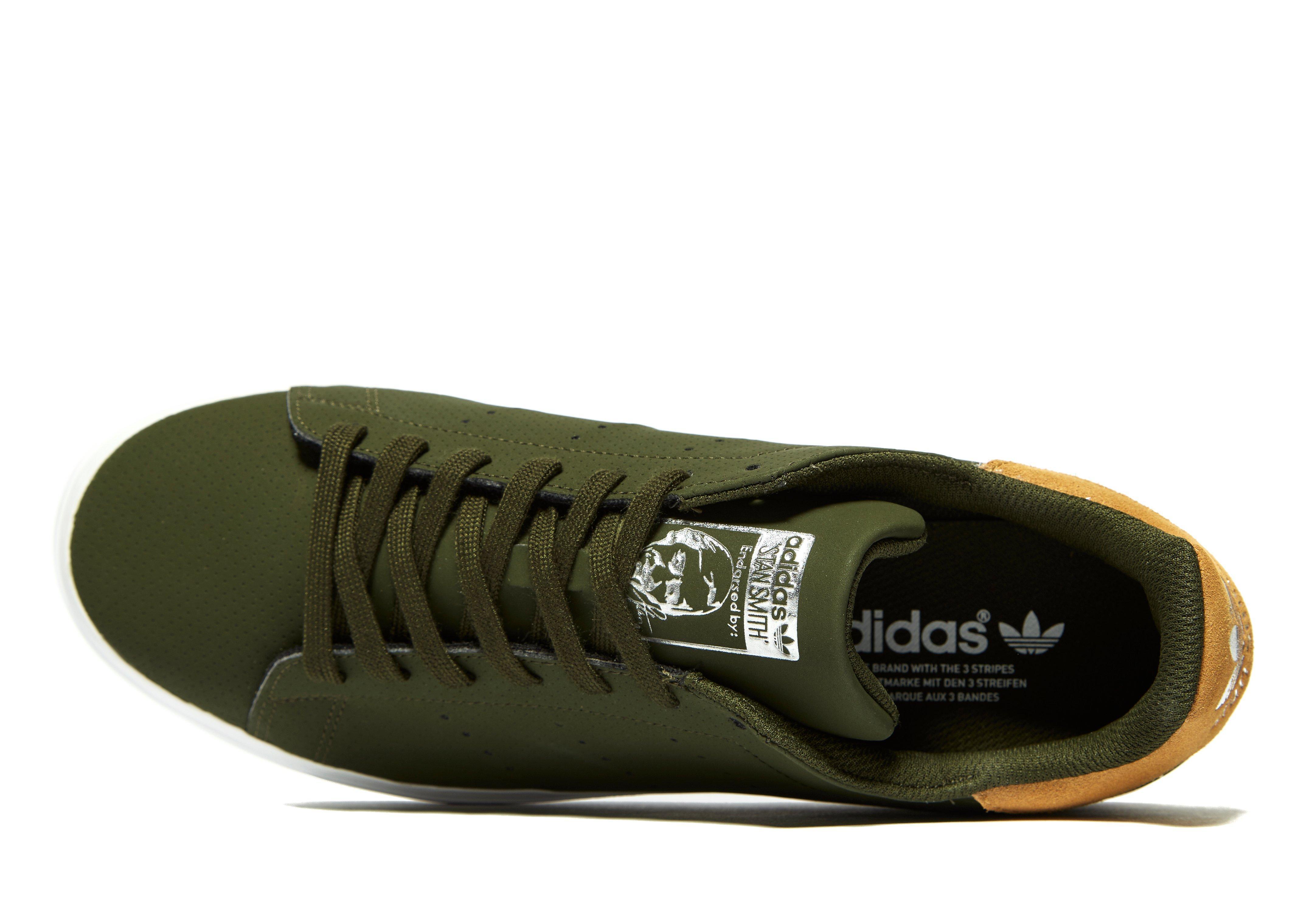 Adidas Originals Stan Smith Vulc en verde para hombres Lyst