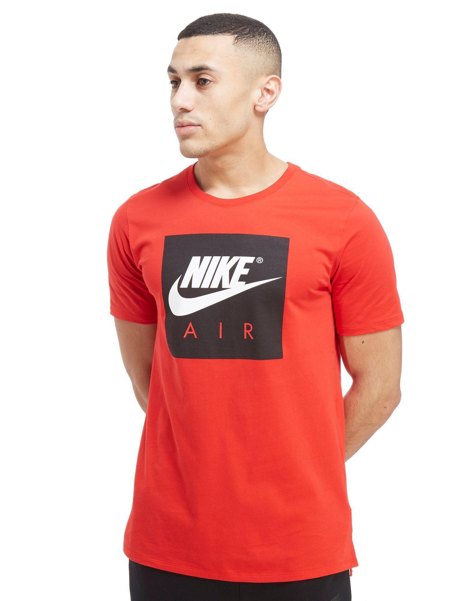 nike shirt red