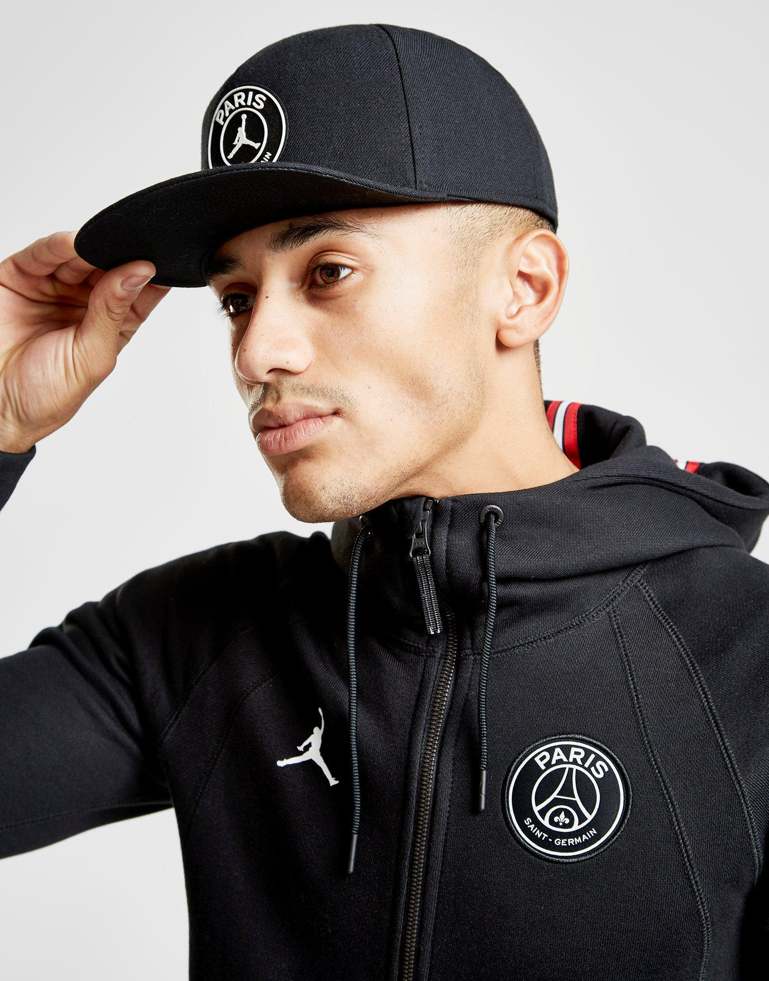 a156db0a8e2 Nike X Paris Saint Germain Wings Full Zip Hoodie in Black for Men - Lyst