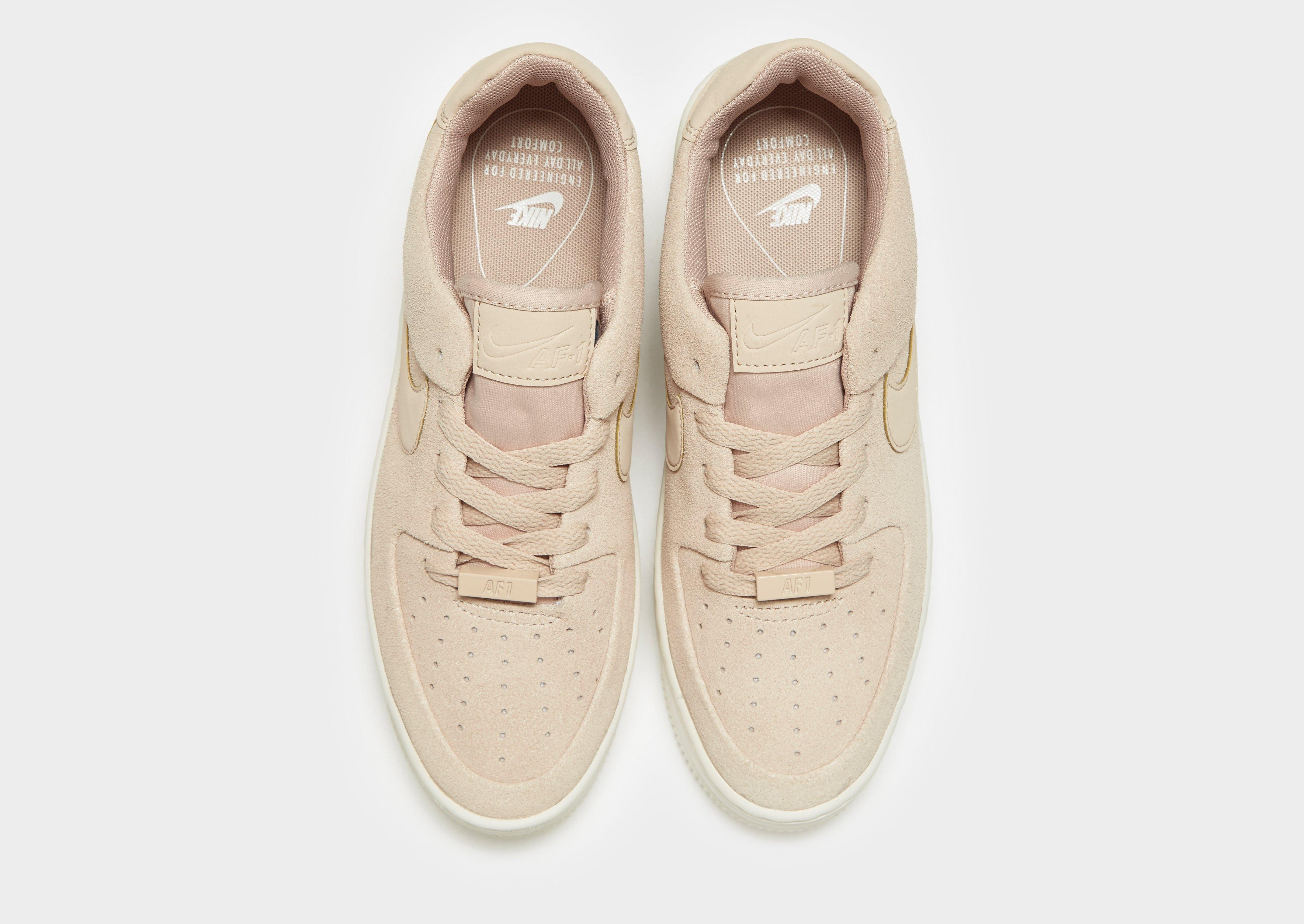 nike air force 1 sage low donna beige