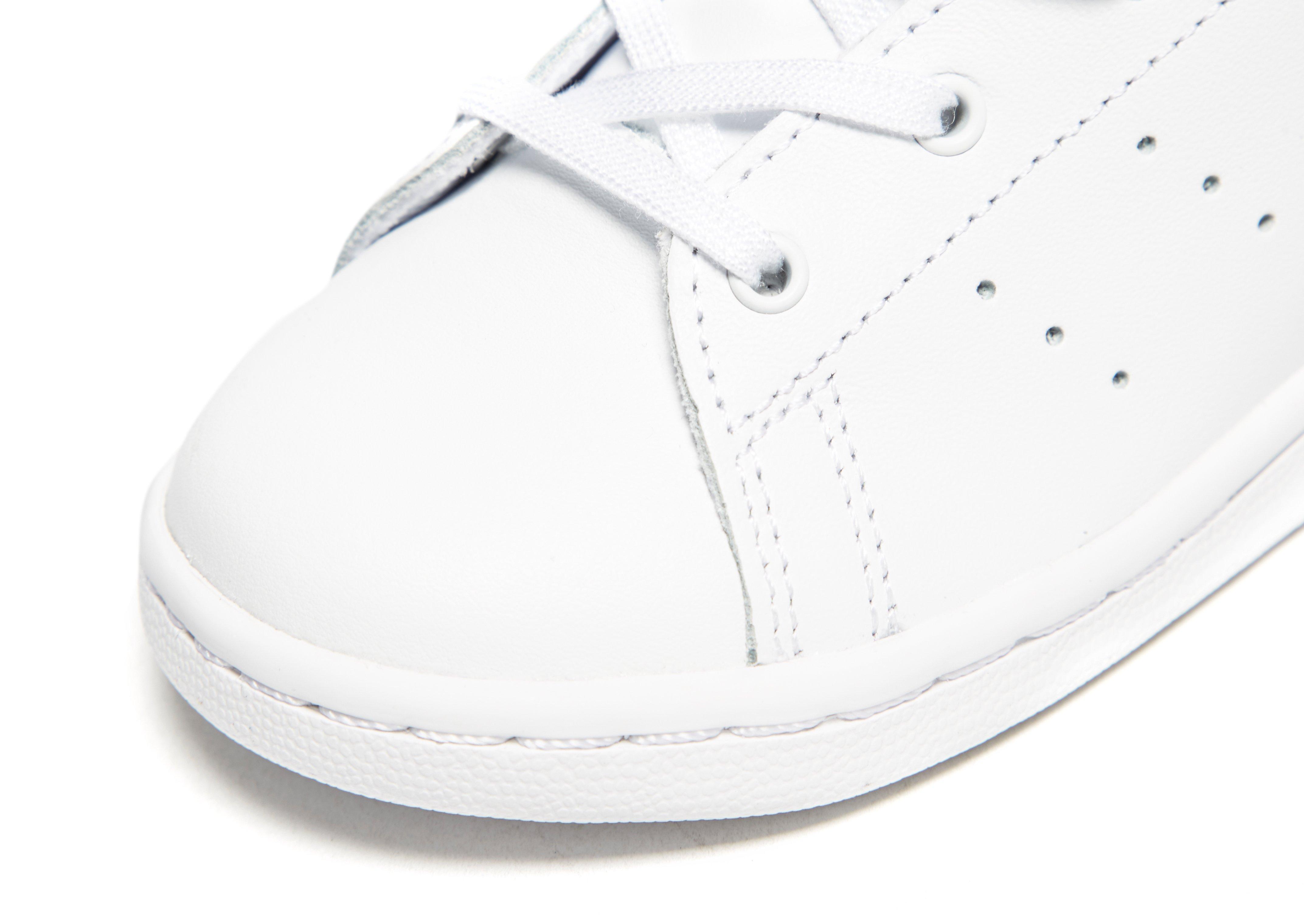 Adidas Originals White Stan Smith Velvet Infant for men