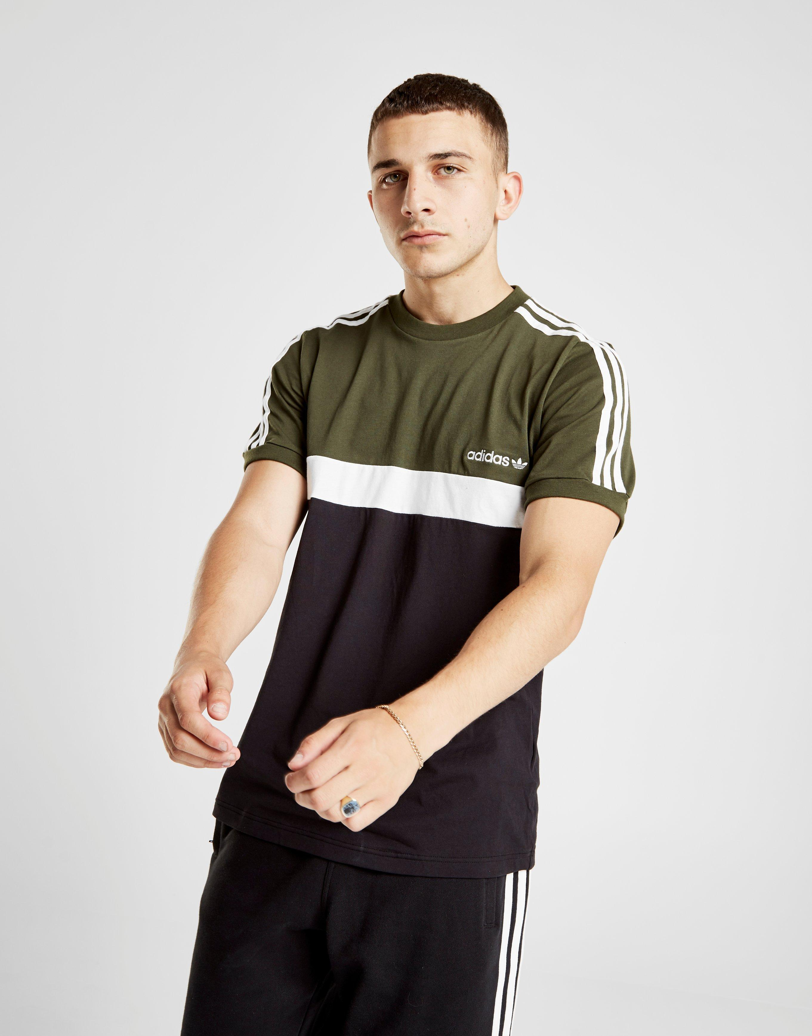 shirt Voor Color Zwart Originals Lyst T Itasca Block In Adidas Heren QCxBtsdhro