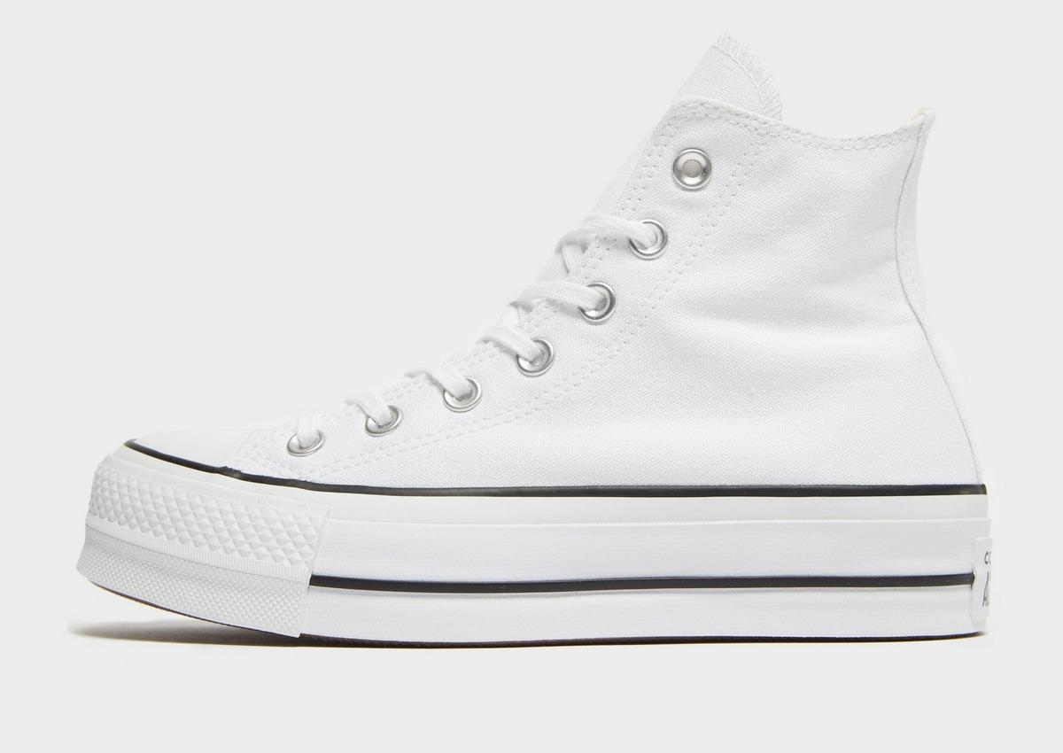 converse platform high white