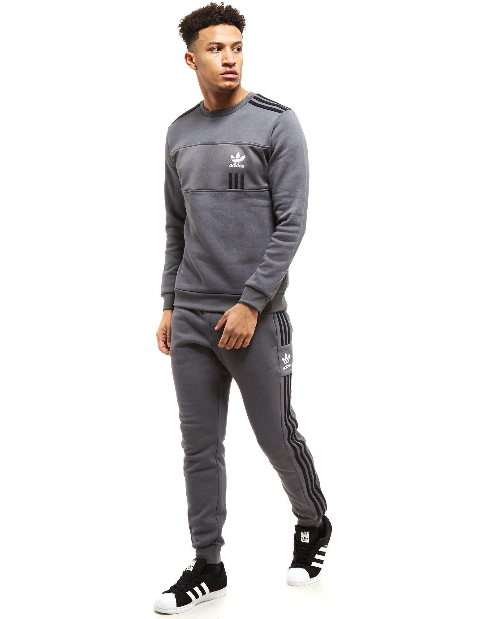 Men's Gray Id96 Crew Sweatshirt
