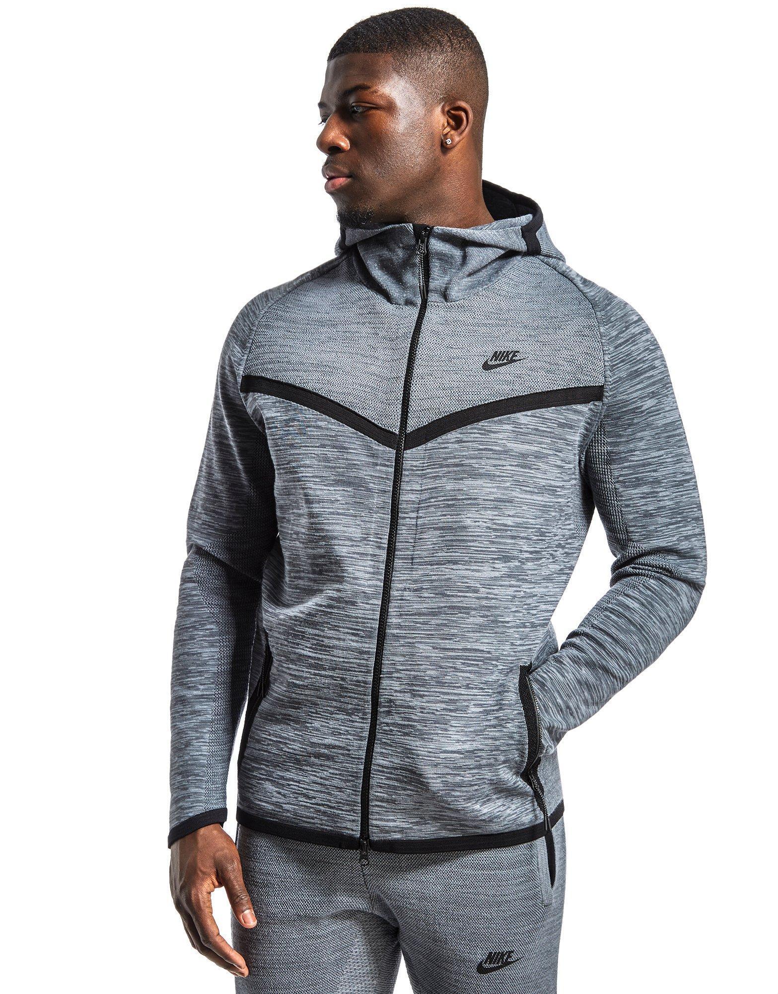 6cc6bd4f0cd2 Nike Tech Knit Windrunner in Gray for Men - Lyst