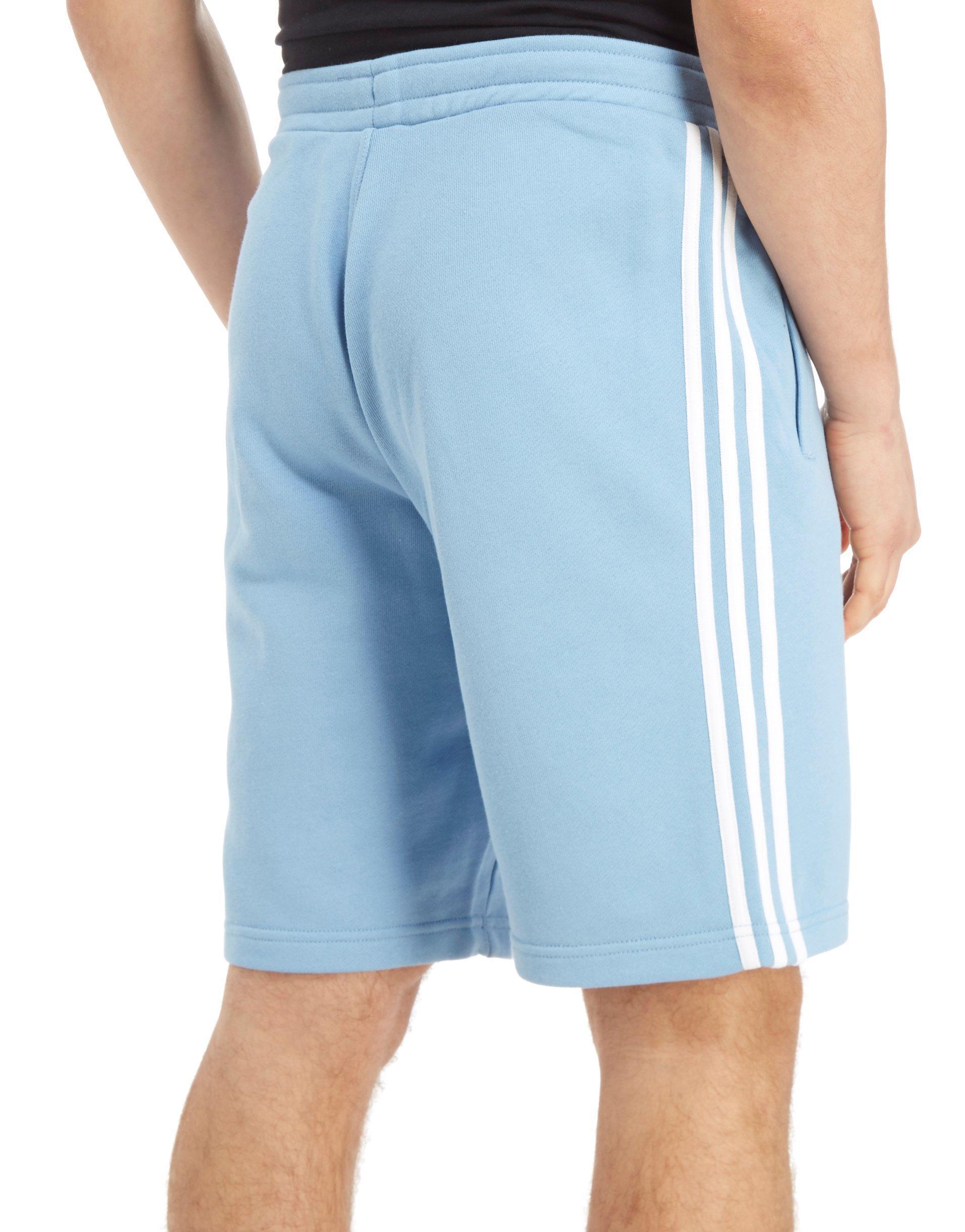 déficit moderadamente atributo  adidas Originals California Fleece Shorts in Blue/White (Blue) for Men -  Lyst