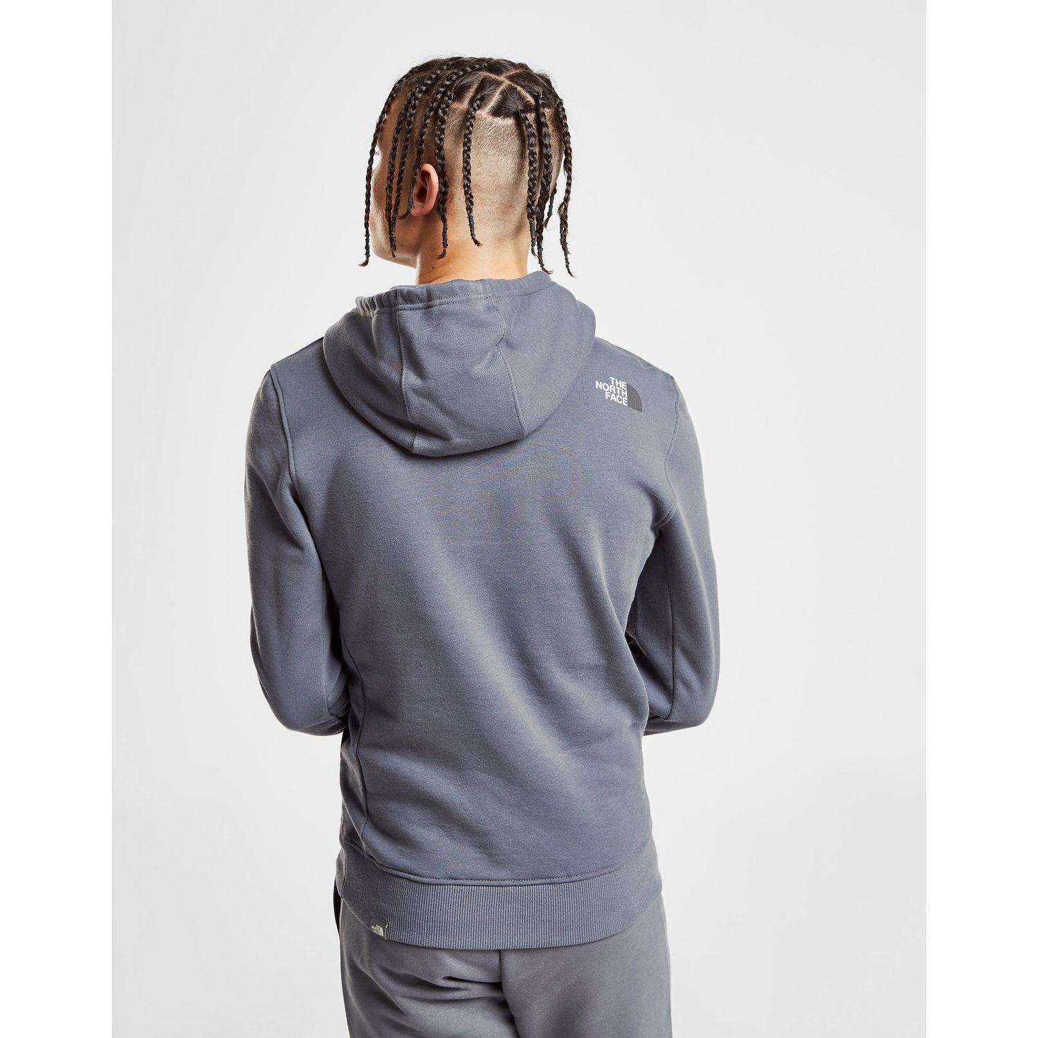 fa4fdcc43 The North Face Gray Bondi Overhead Fleece Hoodie for men