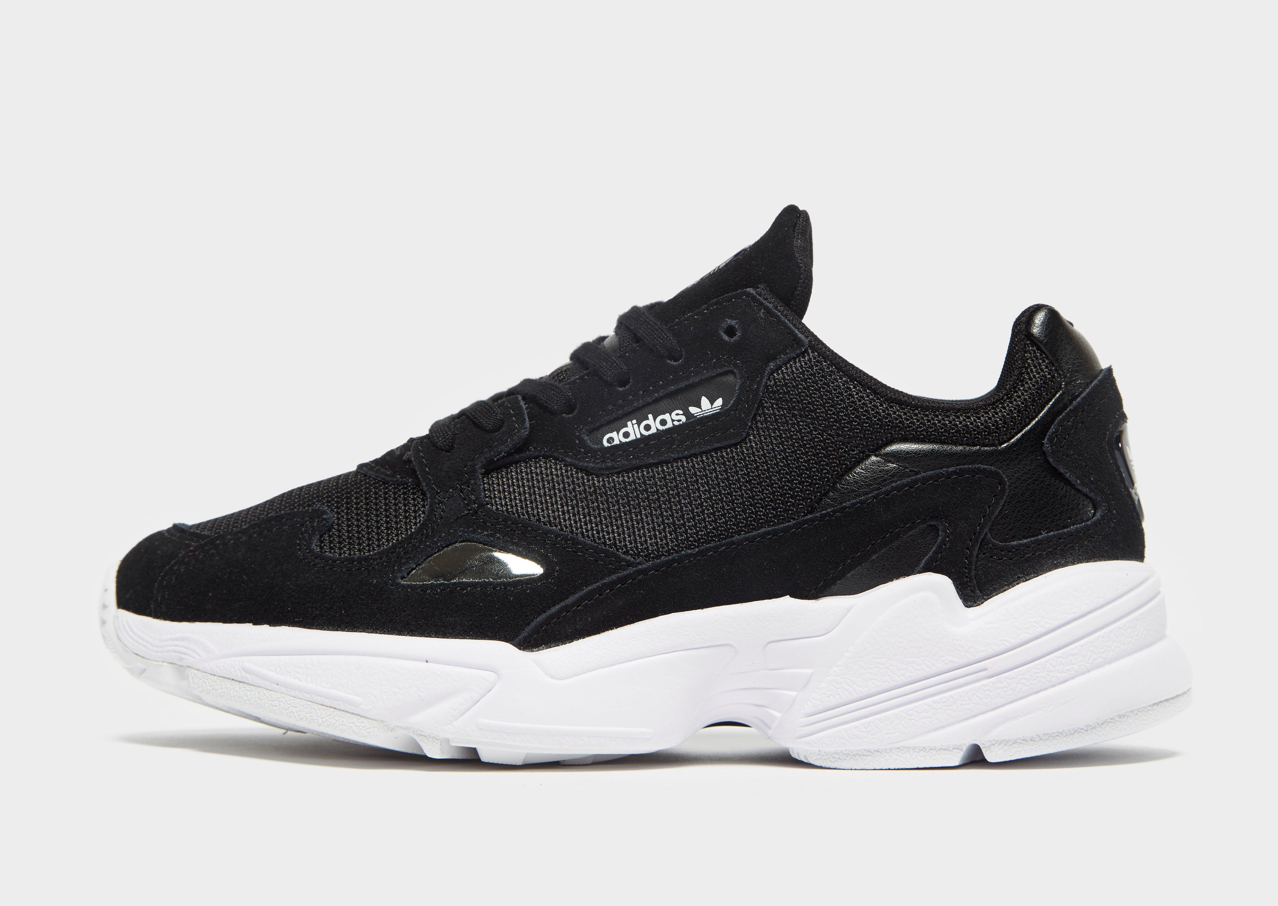 24a1c2513dfd adidas Falcon Shoes in Black - Lyst
