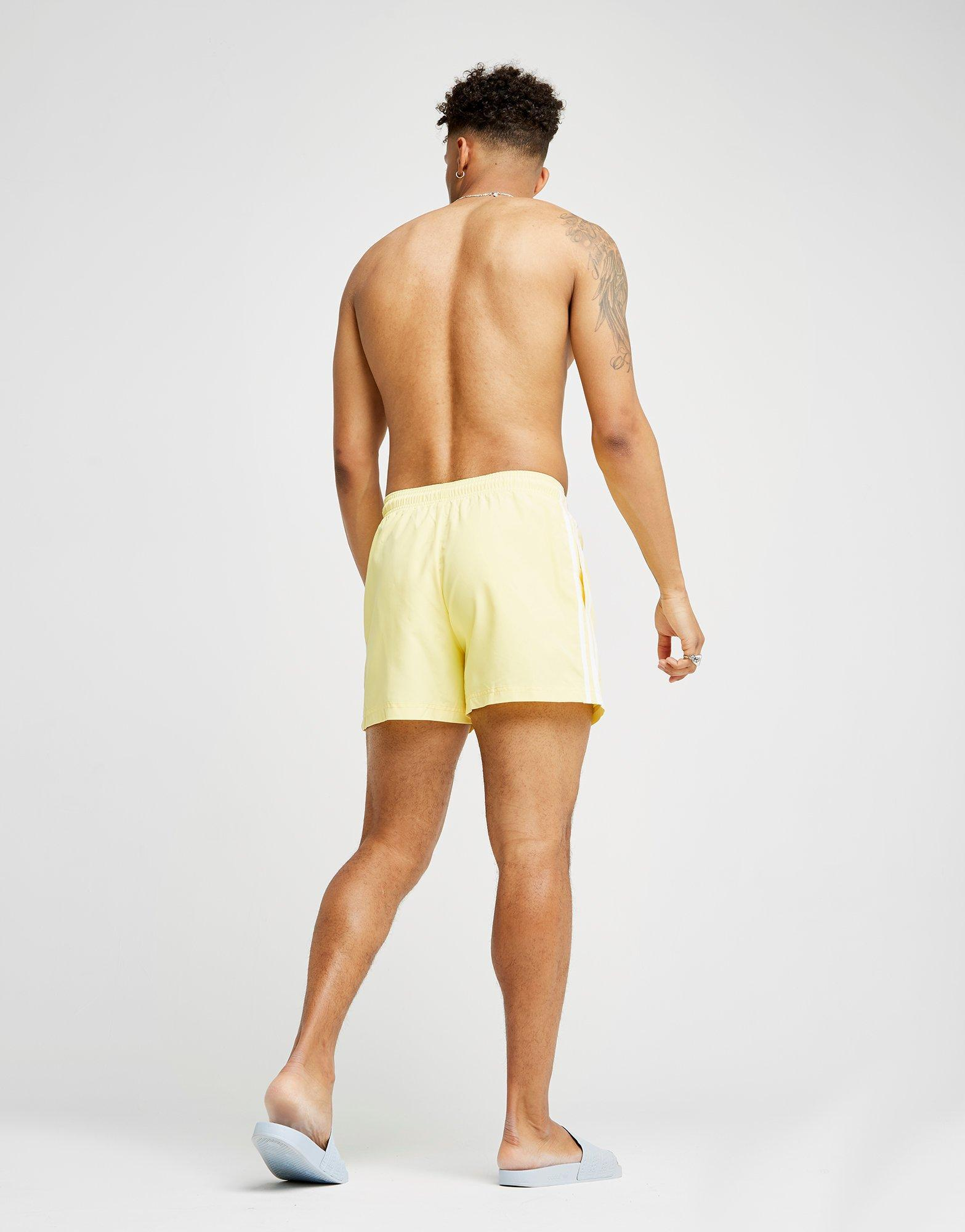 6147bb5b41ea5 adidas Originals California Swimshorts in Yellow for Men - Lyst