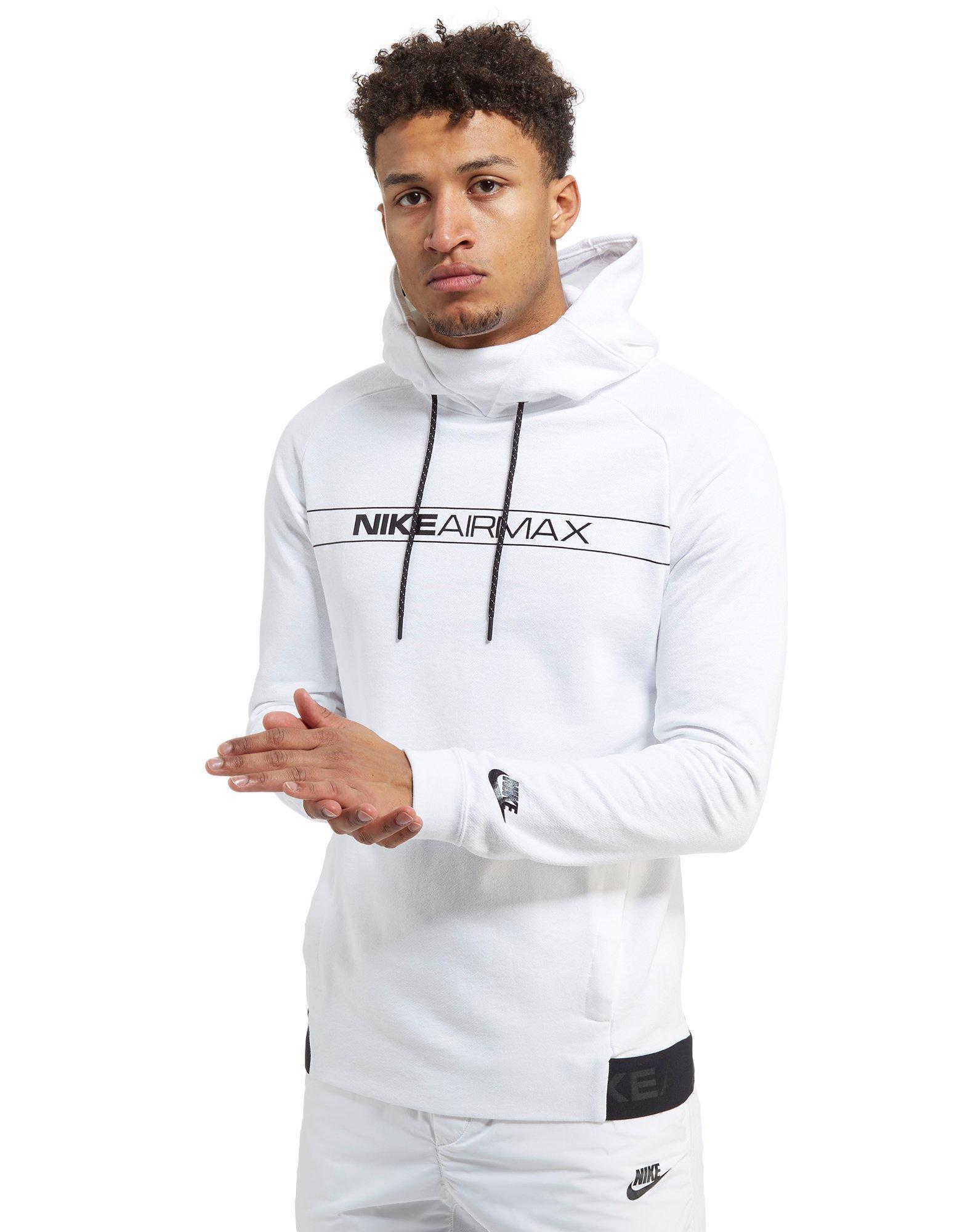 97bdee446d16 Nike Air Max Overhead Hoodie in White for Men - Lyst