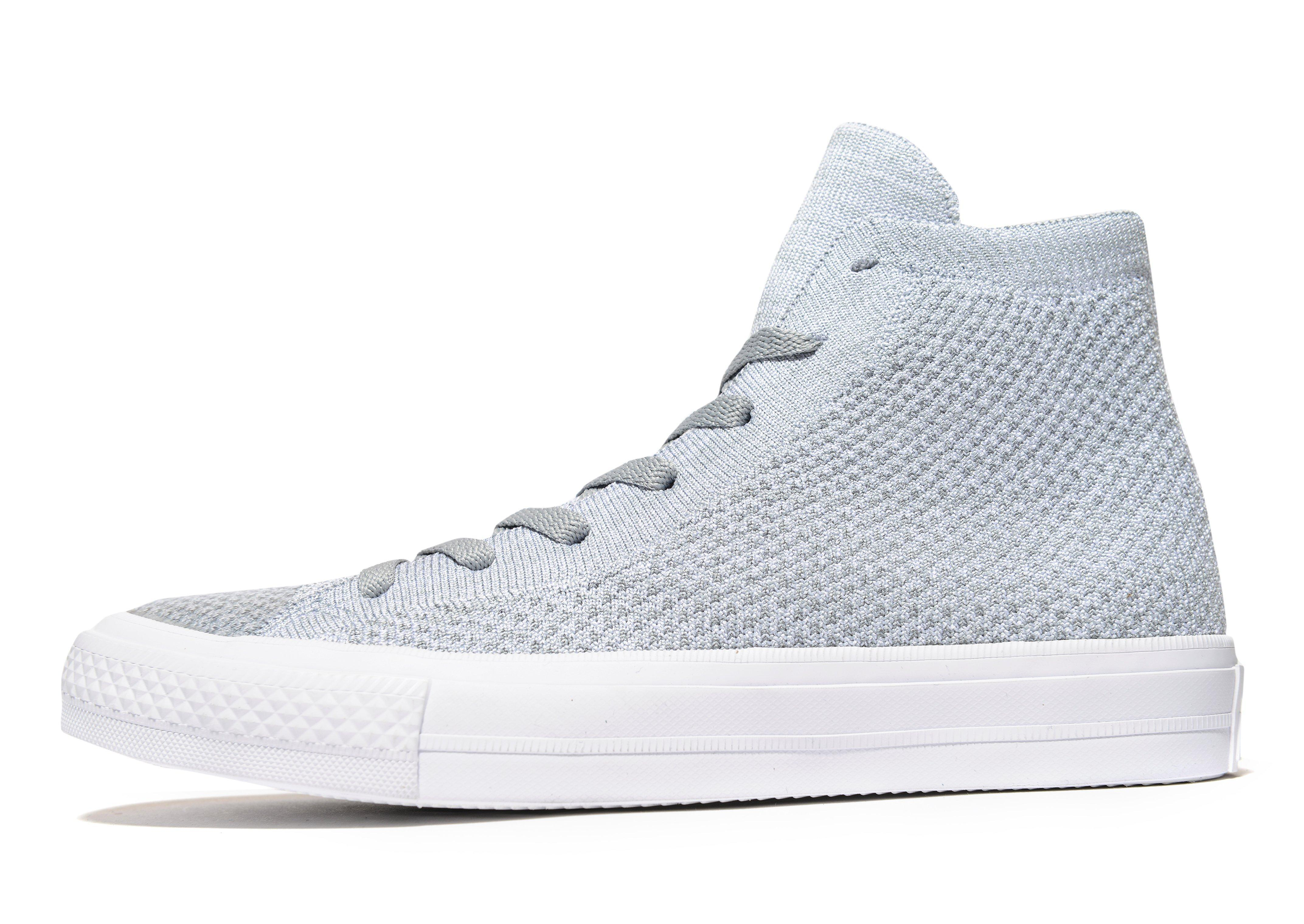 47eaa9194cd5 Lyst - Converse Chuck Taylor All Star Flyknit in Gray for Men