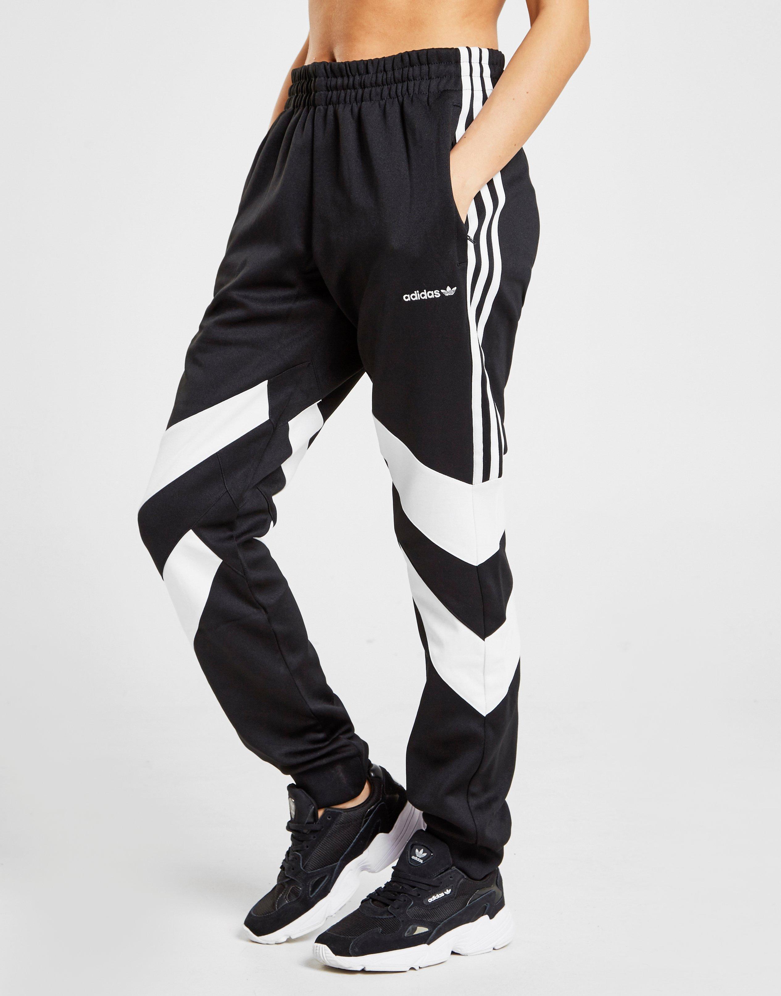 adidas Originals Cotton Palmeston Track Pants in BlackWhite