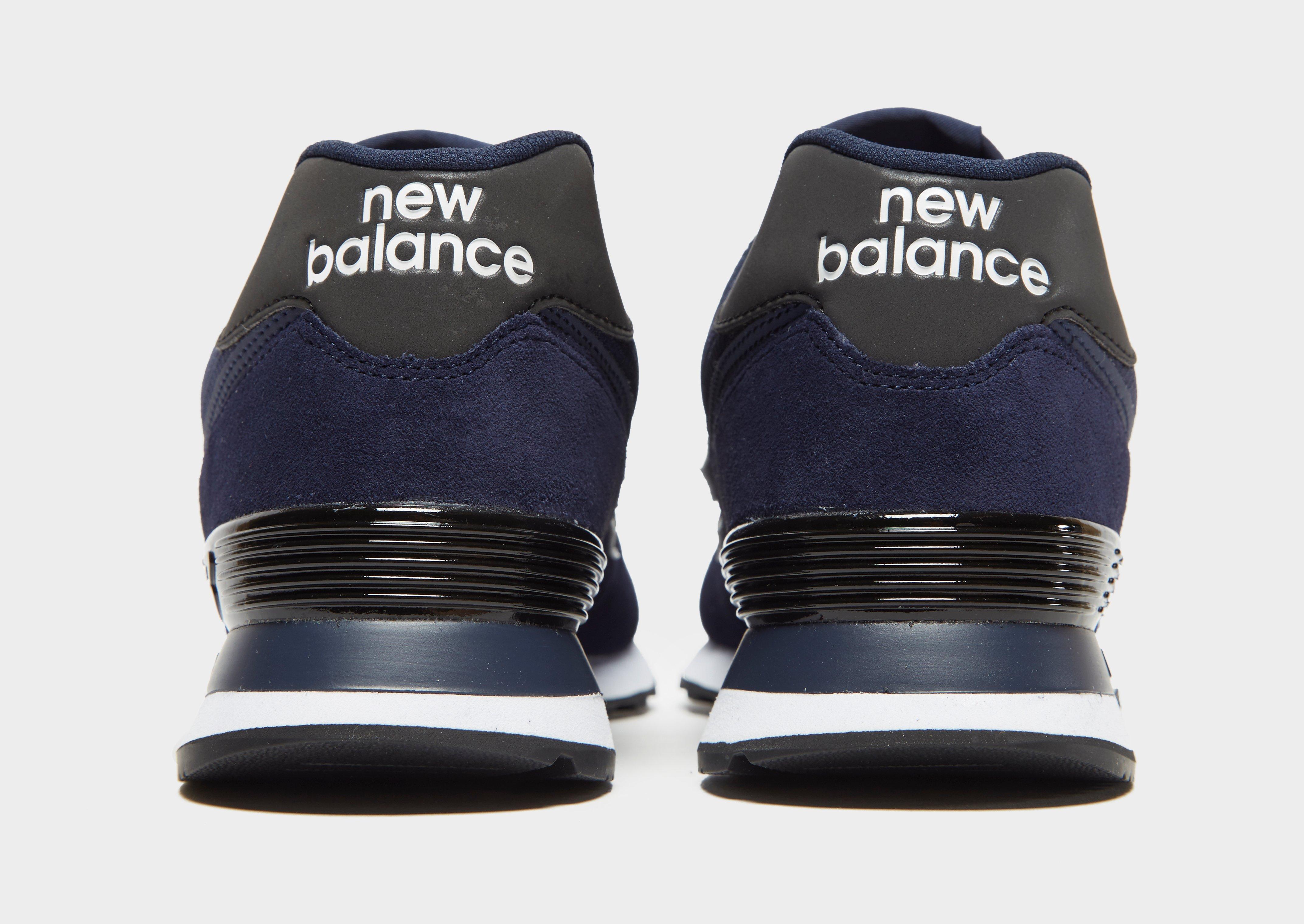 new balance 574 tessuto