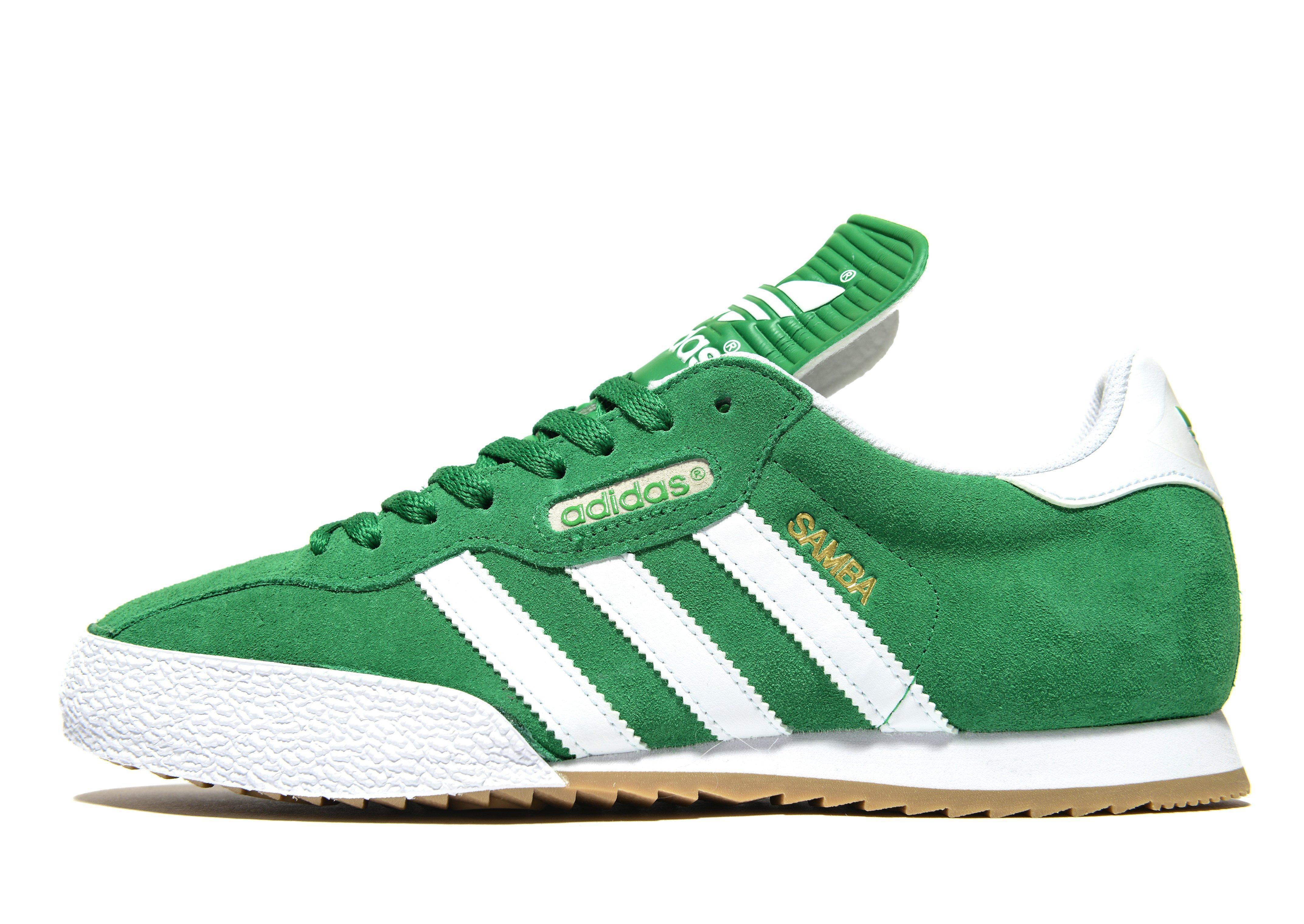 adidas Originals Suede Samba in Green