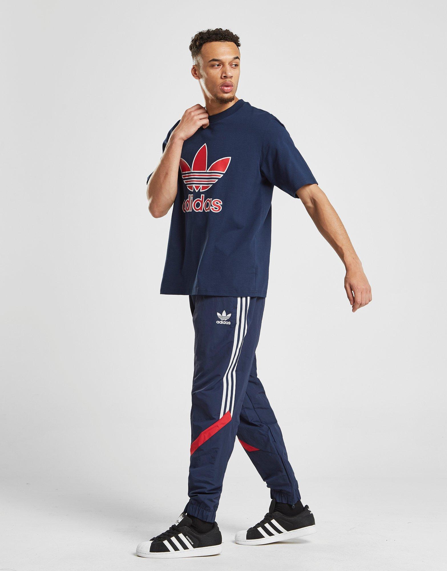 c391e281b adidas Originals Sportivo Track Pants in Blue for Men - Lyst
