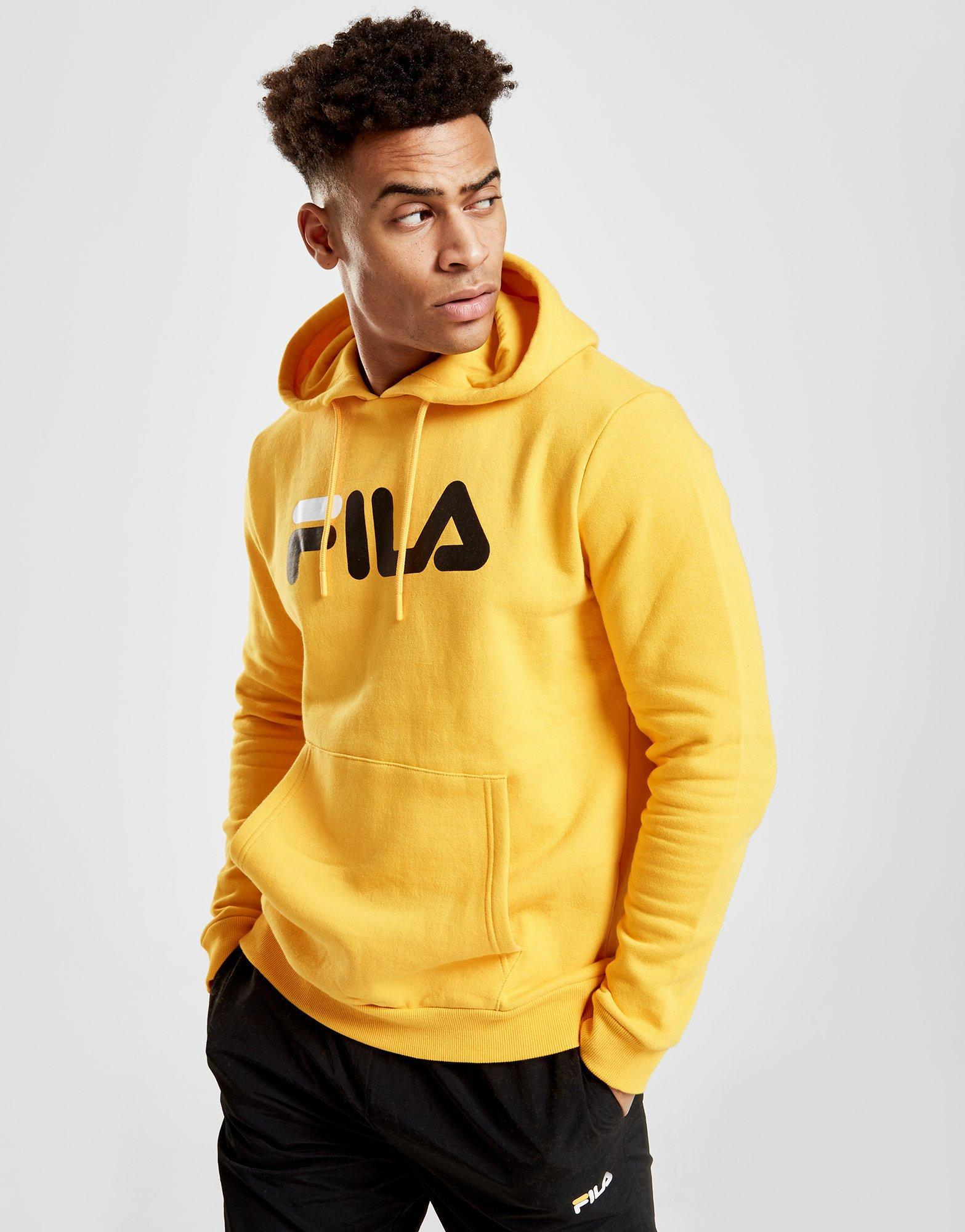 add1ce52 Fila Yellow Axel Hoodie for men