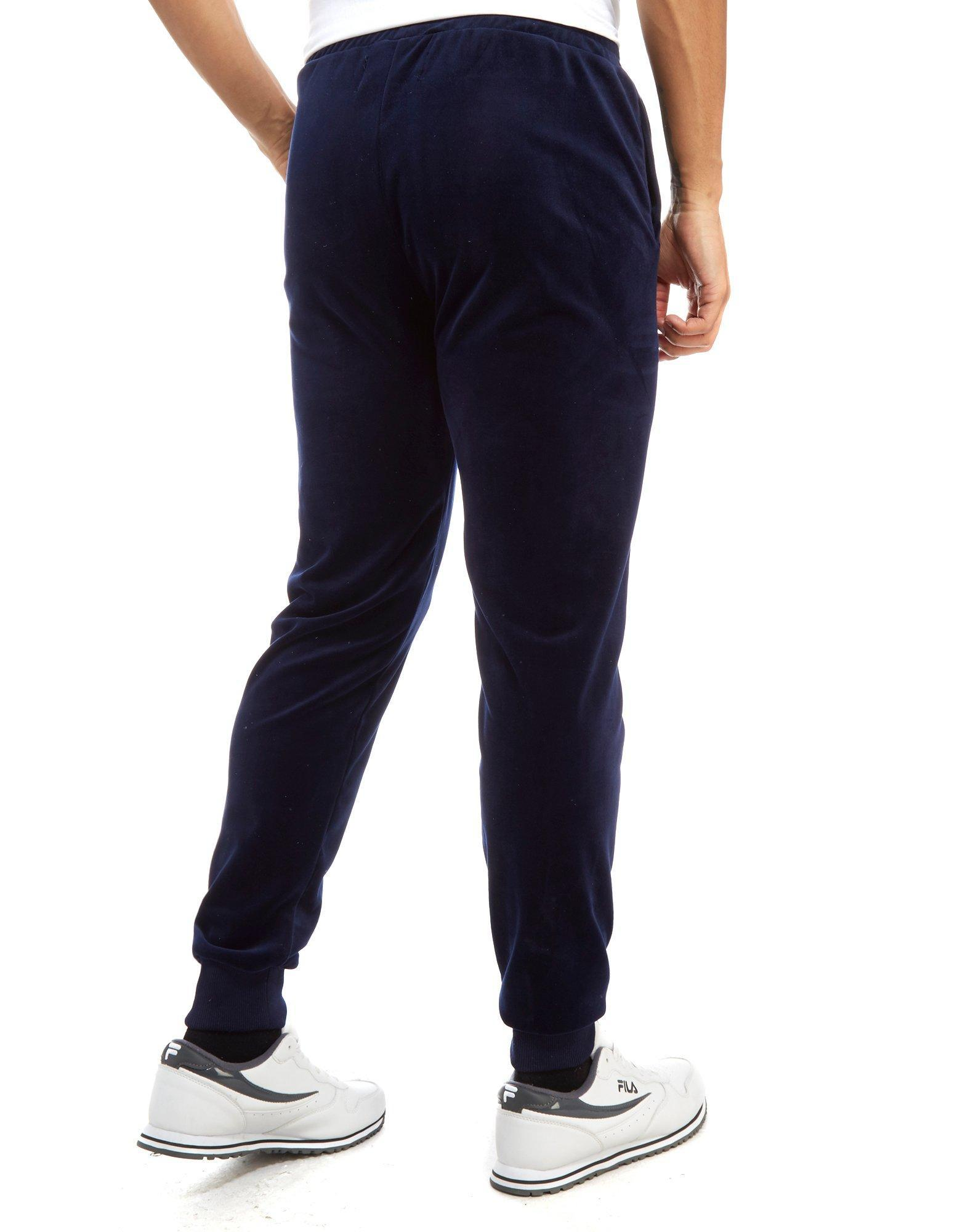 Fila Synthetic Aaron Velour Pants in Blue for Men
