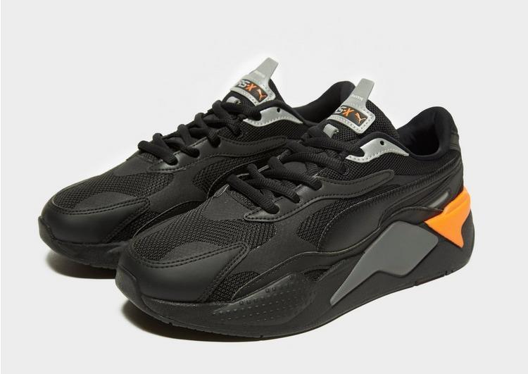 PUMA Leather Rs-x Radiance in Black/Orange (Black) for Men ...