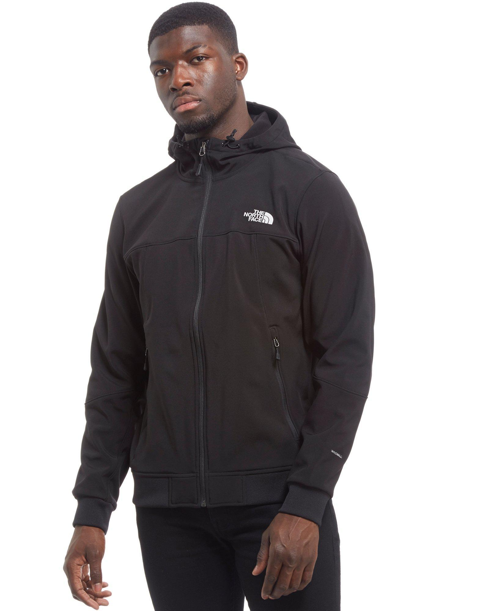 294ab7db6fae ... wholesale lyst the north face millbrook softshell bomber jacket in  black for men 05dac e4842