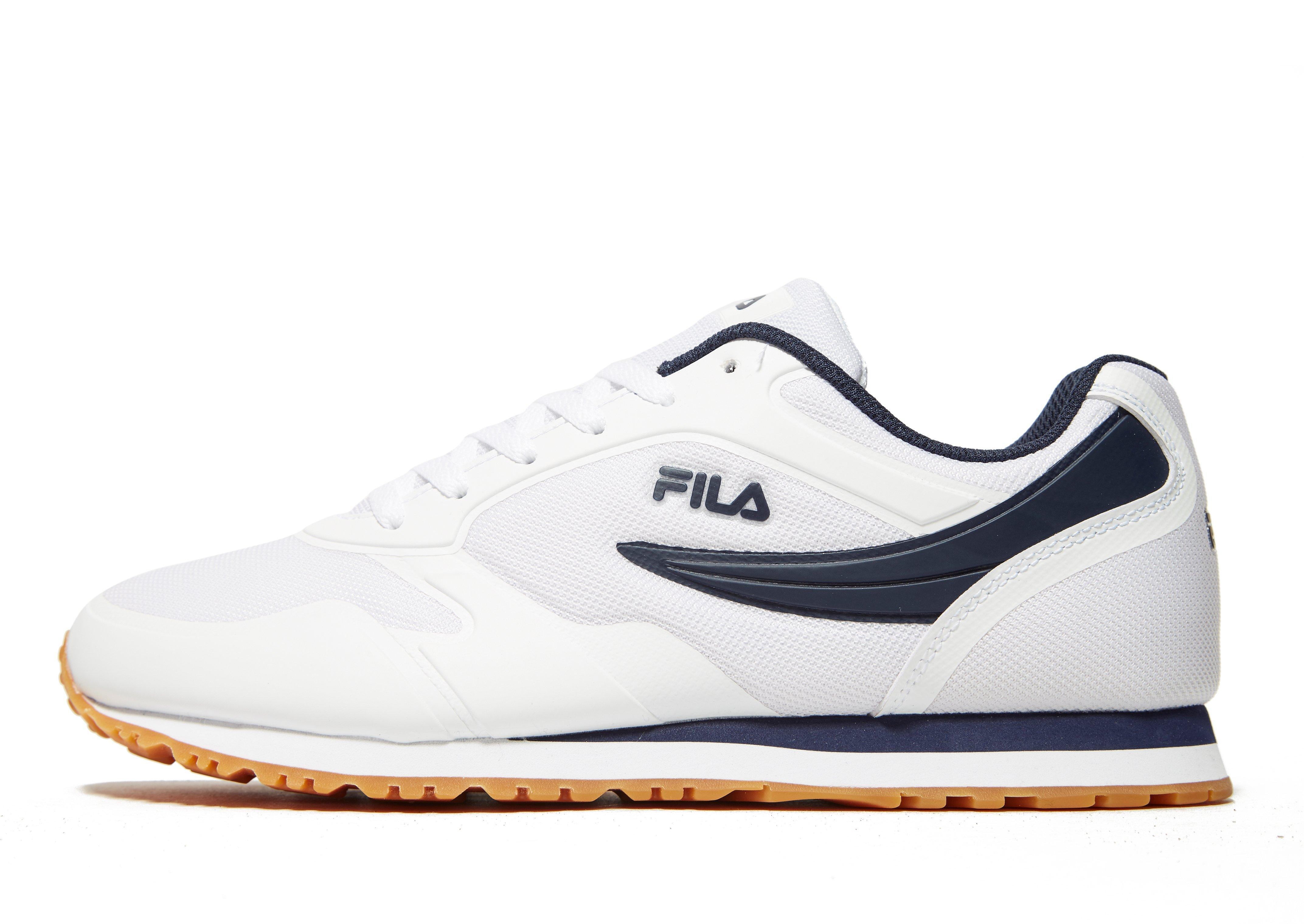 Fila Synthetic Forerunner in White/Navy