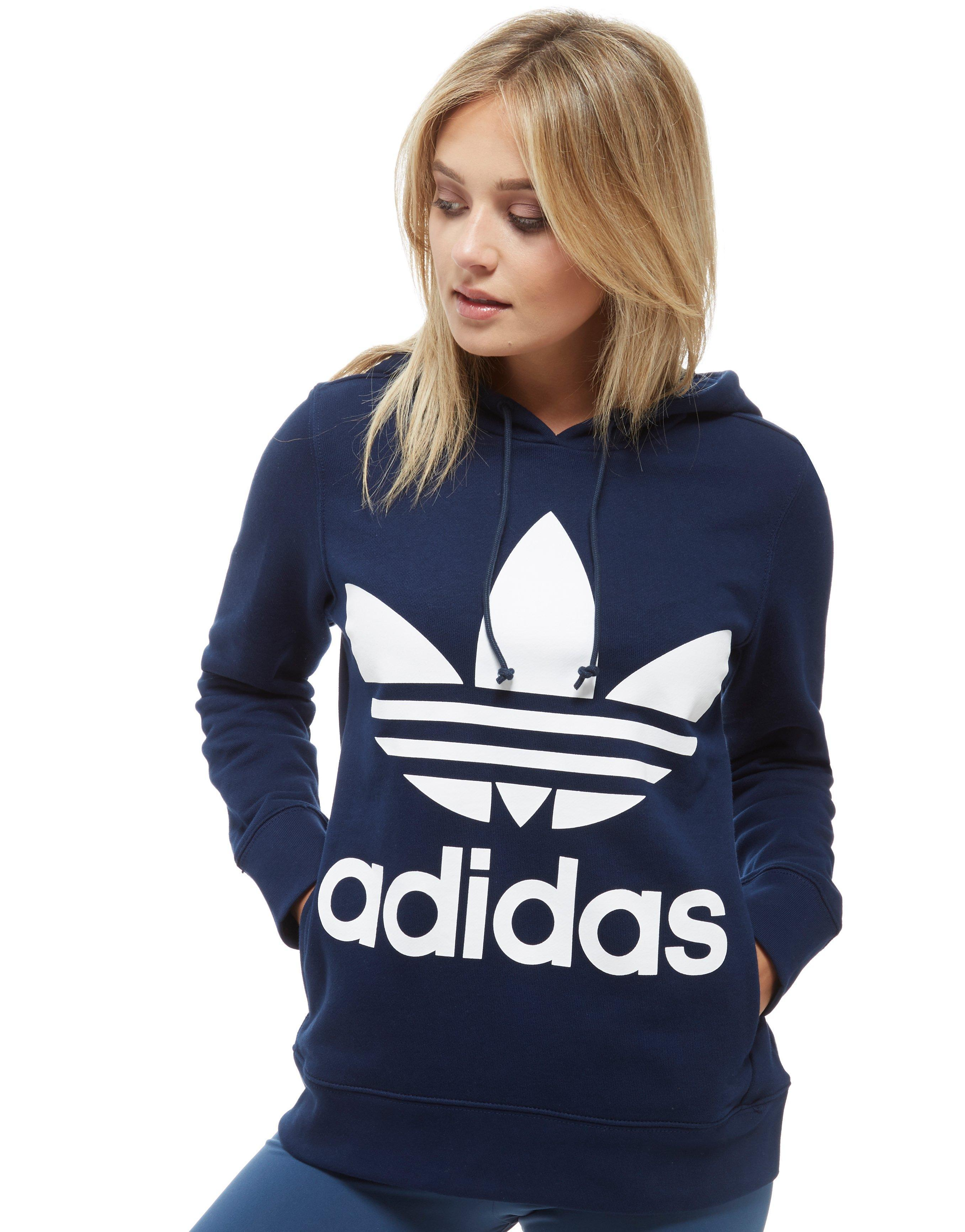 Lyst azul Adidas Originals Trefoil Overhead Hoodie Hoodie Originals en azul a8d7e43 - sfitness.xyz