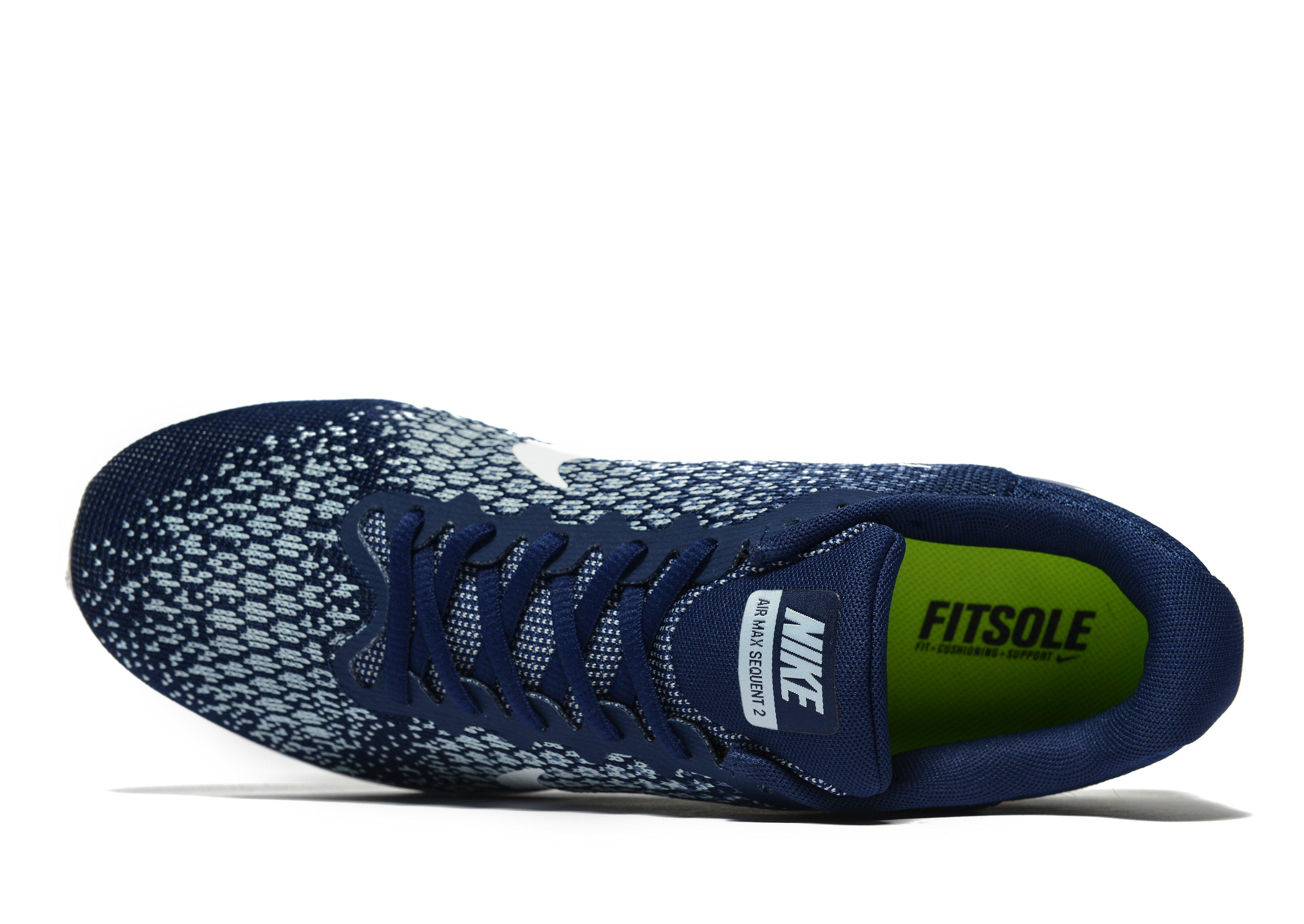 Nike Synthetic Air Max Sequent 2 in Blue for Men - Lyst