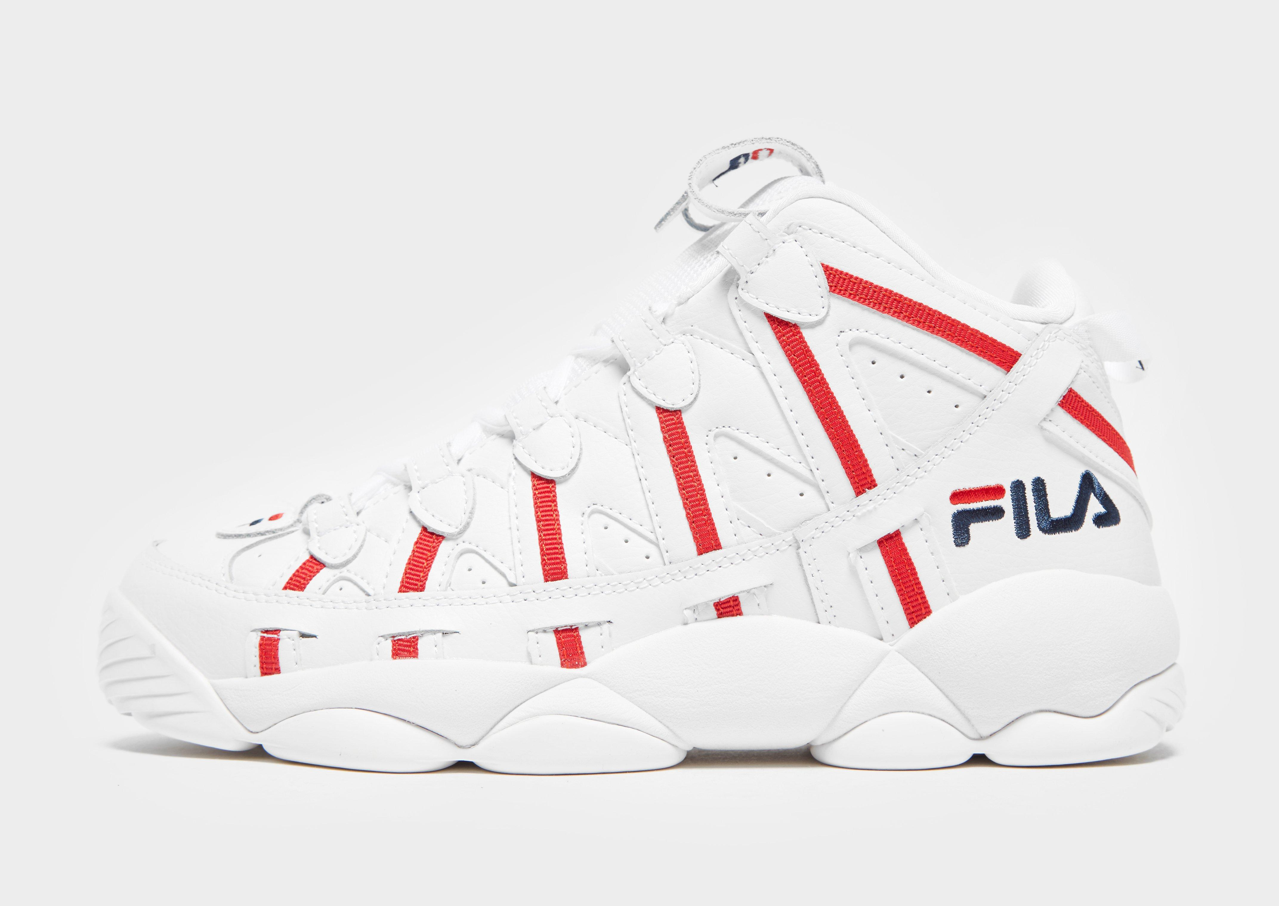 Fila Synthetic Spaghetti in White/Red (White) for Men - Lyst