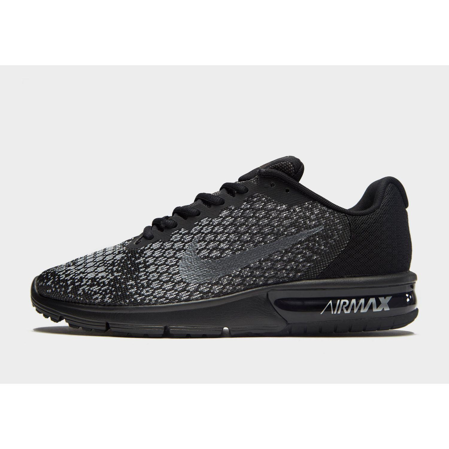 8f4636030b Nike. Men's Black Air Max Sequent 2. $118 $79 From JD Sports