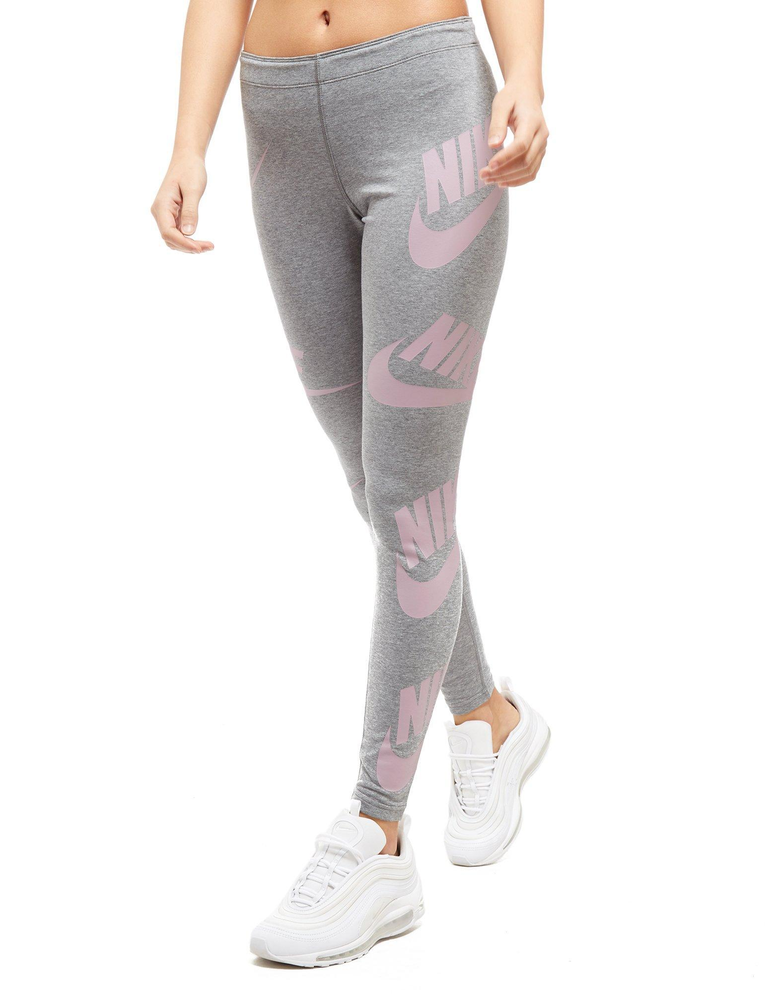 Leggings Futura All Gray Over In Lyst Print Nike nXxwffRv