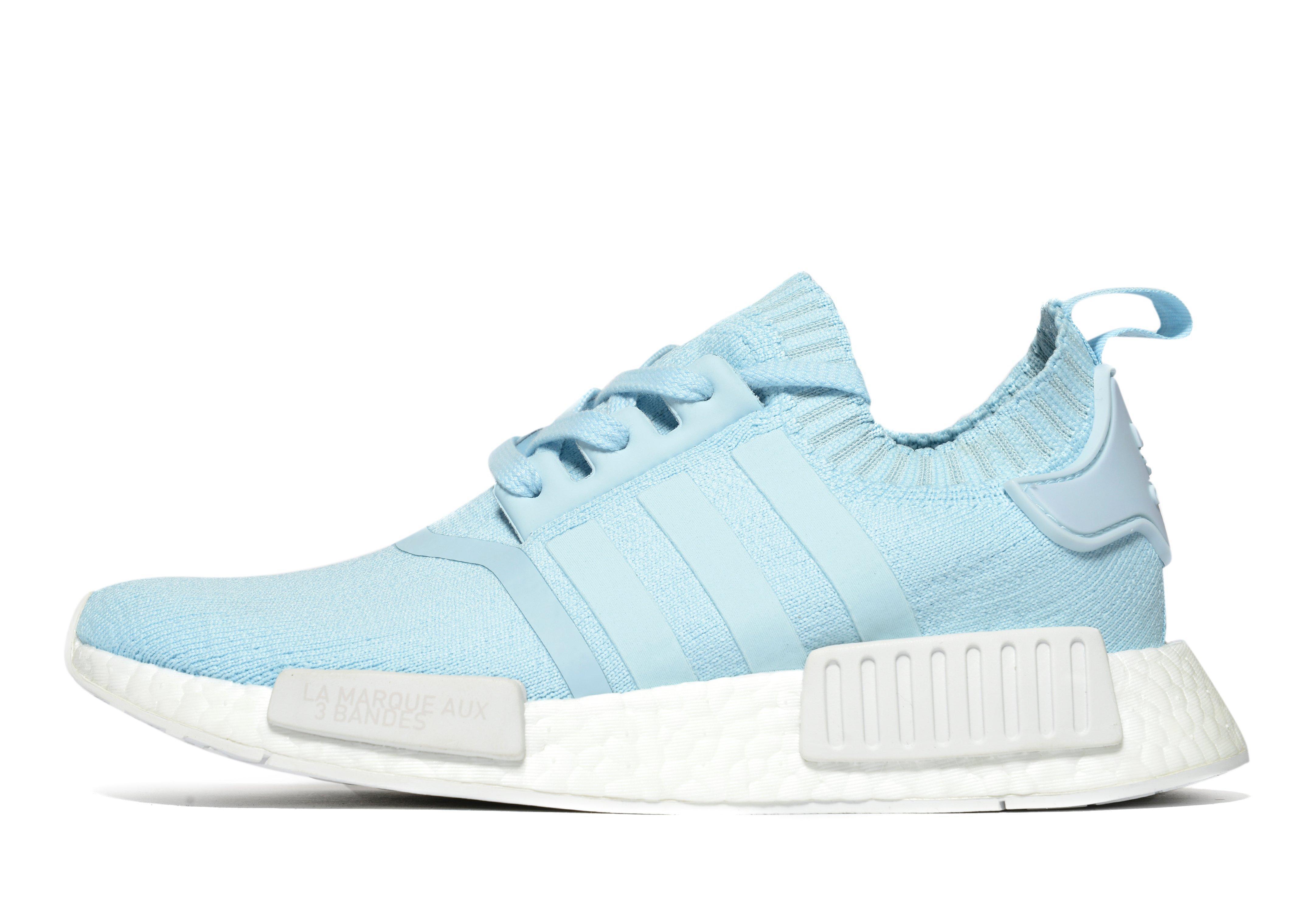 lyst adidas originali nmd r1 pk in blu