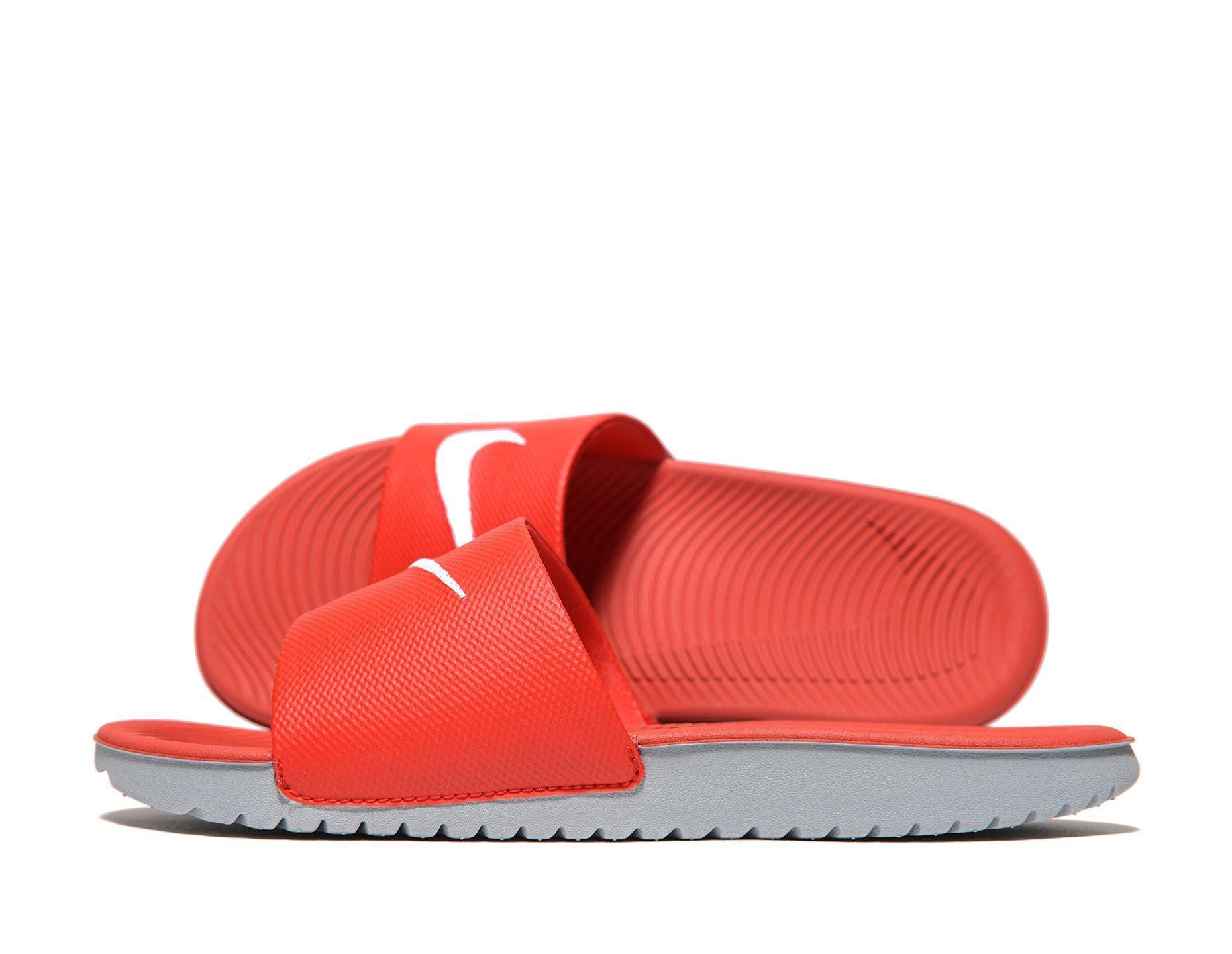 88059976f Lyst - Nike Kawa Flip Flops Junior in Red for Men