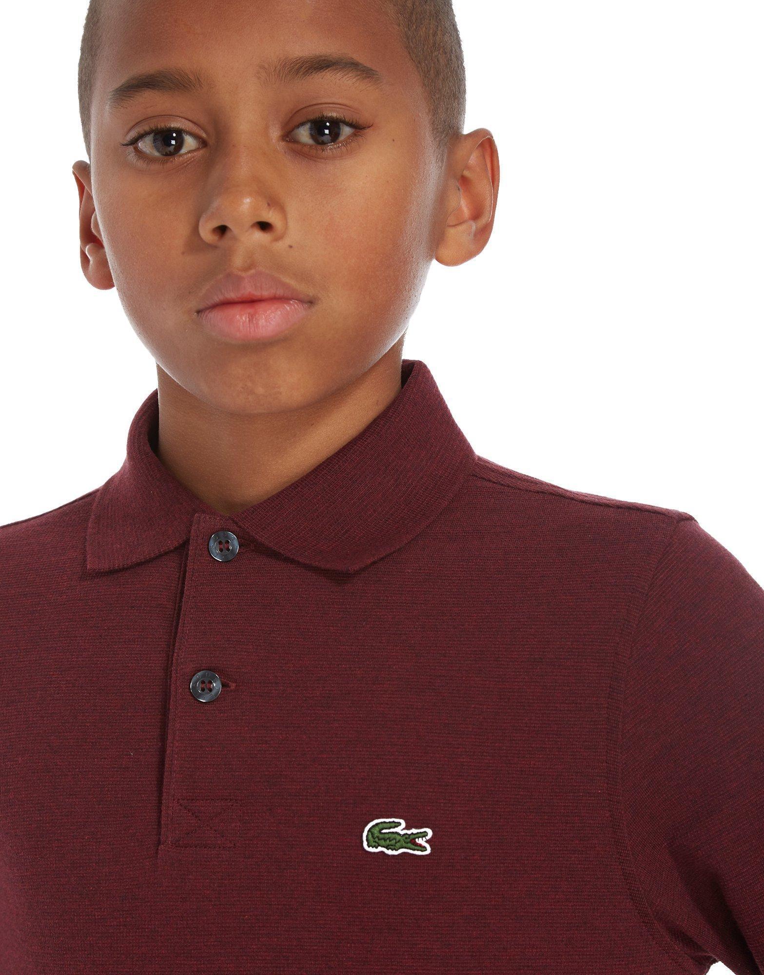 c368b6b02 ... shop lyst lacoste long sleeve sport polo t shirt children in red for  men dec62 779dd