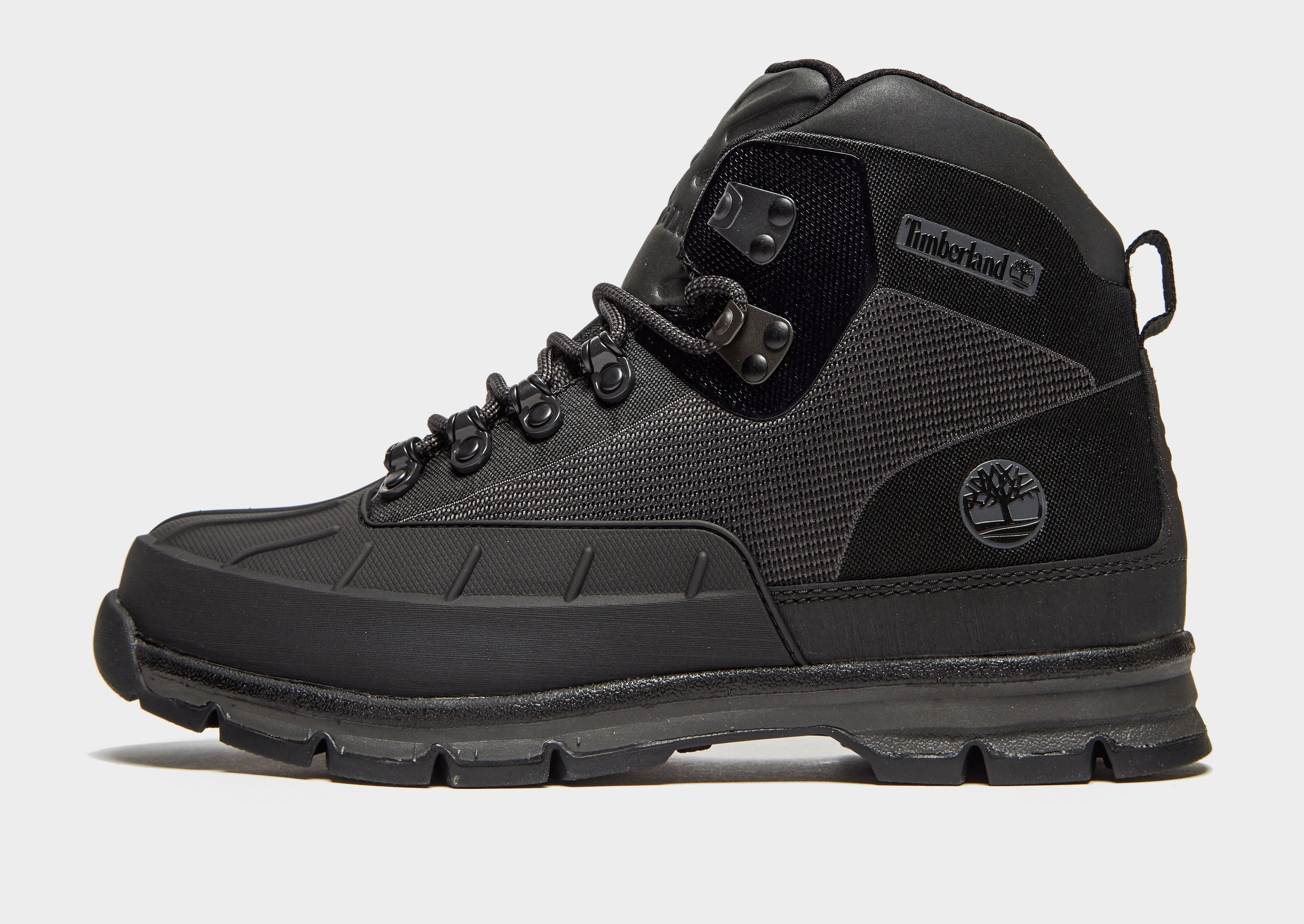 1d49049a98c Timberland Euro Hiker Shell-toe in Black for Men - Lyst