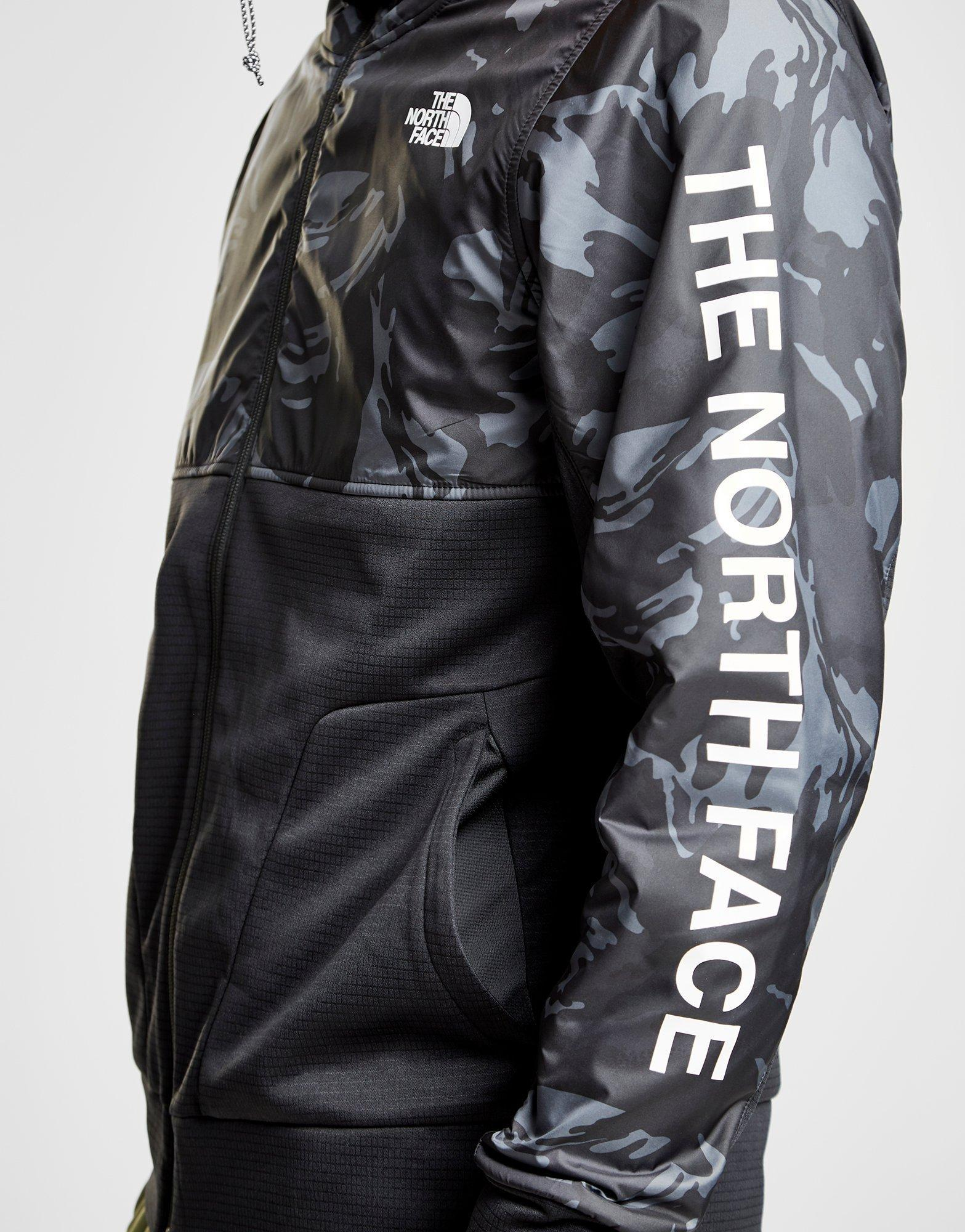 cb70c81e2 The North Face Multicolor Train N Logo Full Zip Hooded Jacket for men