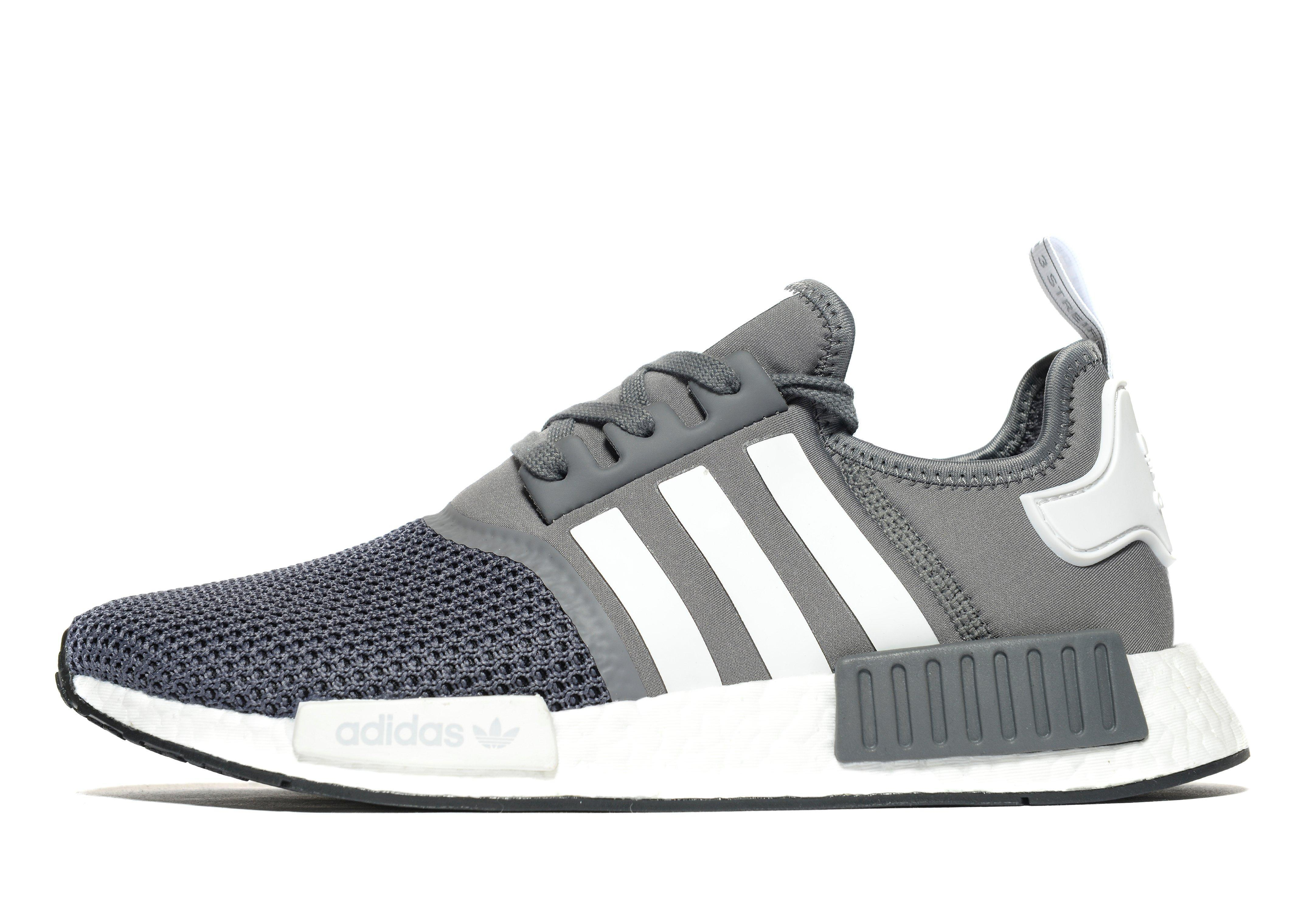 lyst adidas originals nmd r1 in gray for men. Black Bedroom Furniture Sets. Home Design Ideas