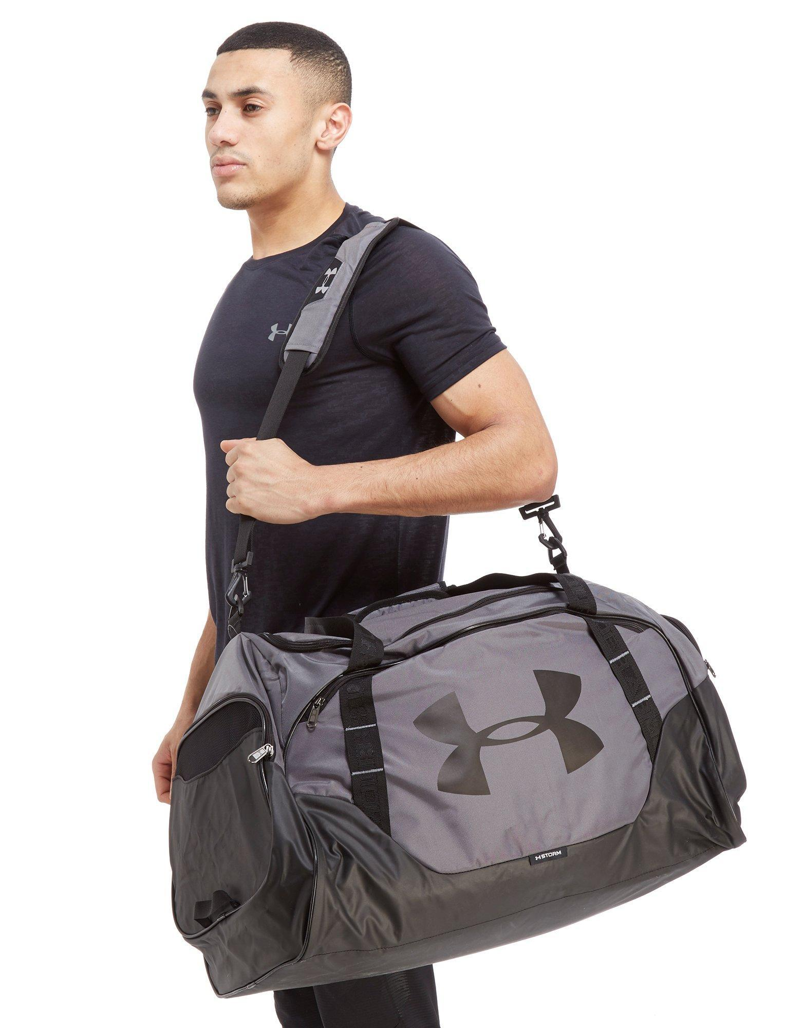 af241c2c6 Under Armour Undeniable Large Duffle Bag in Gray for Men - Lyst