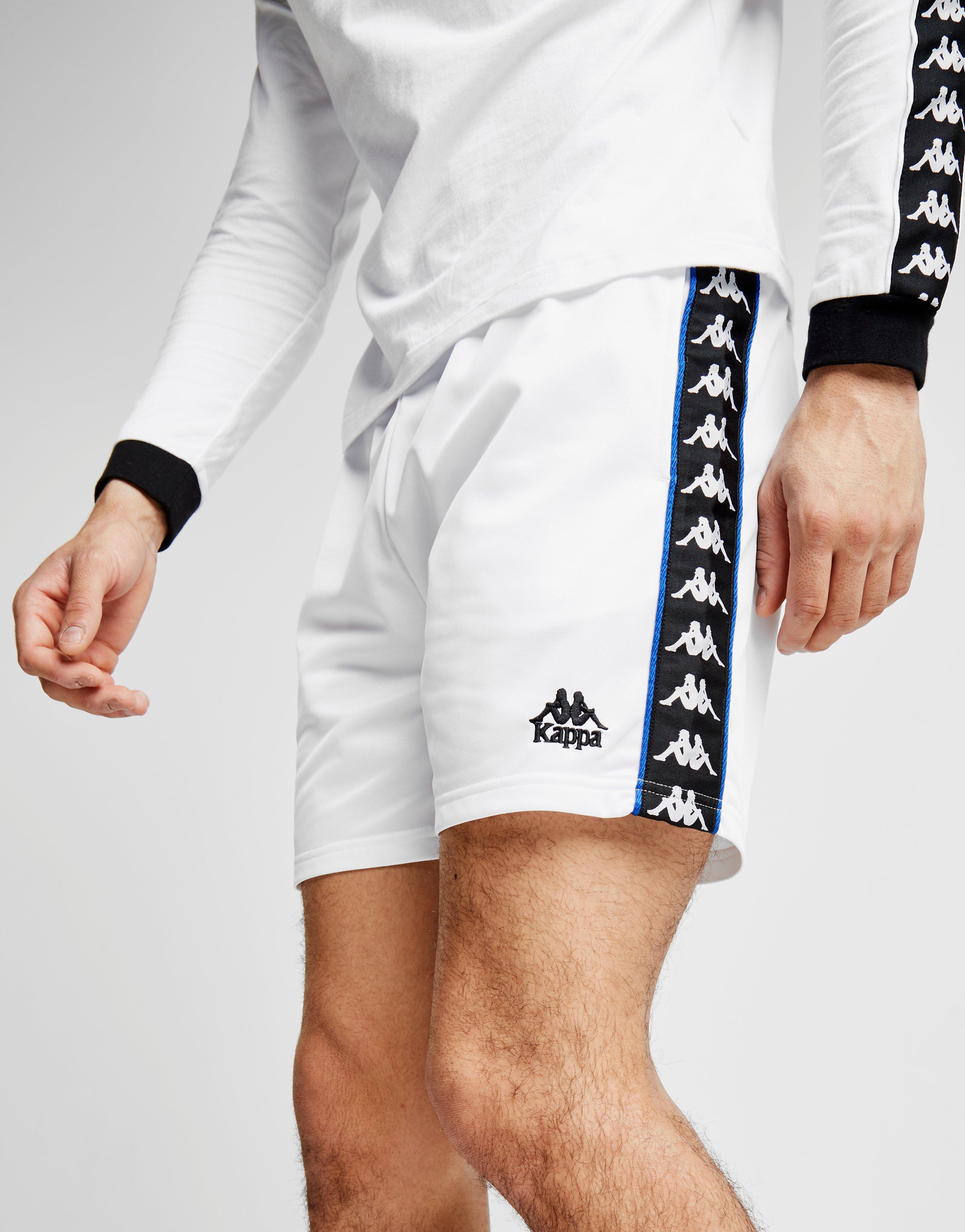 c1db5fd4 Kappa White Cole Poly Shorts for men