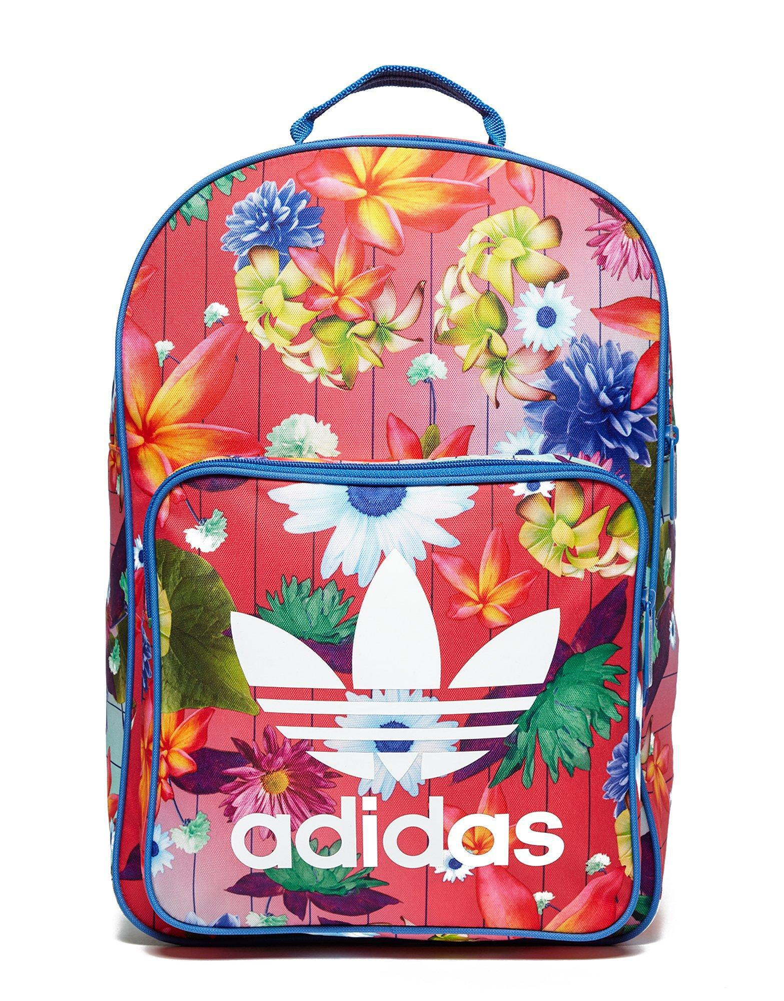 adidas Originals Classic Flower Backpack - Lyst 46a92d4291