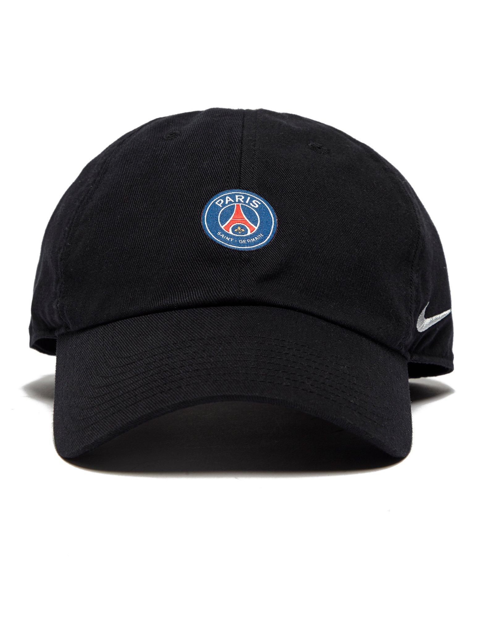 Nike Black Paris Saint Germain H86 Cap for men