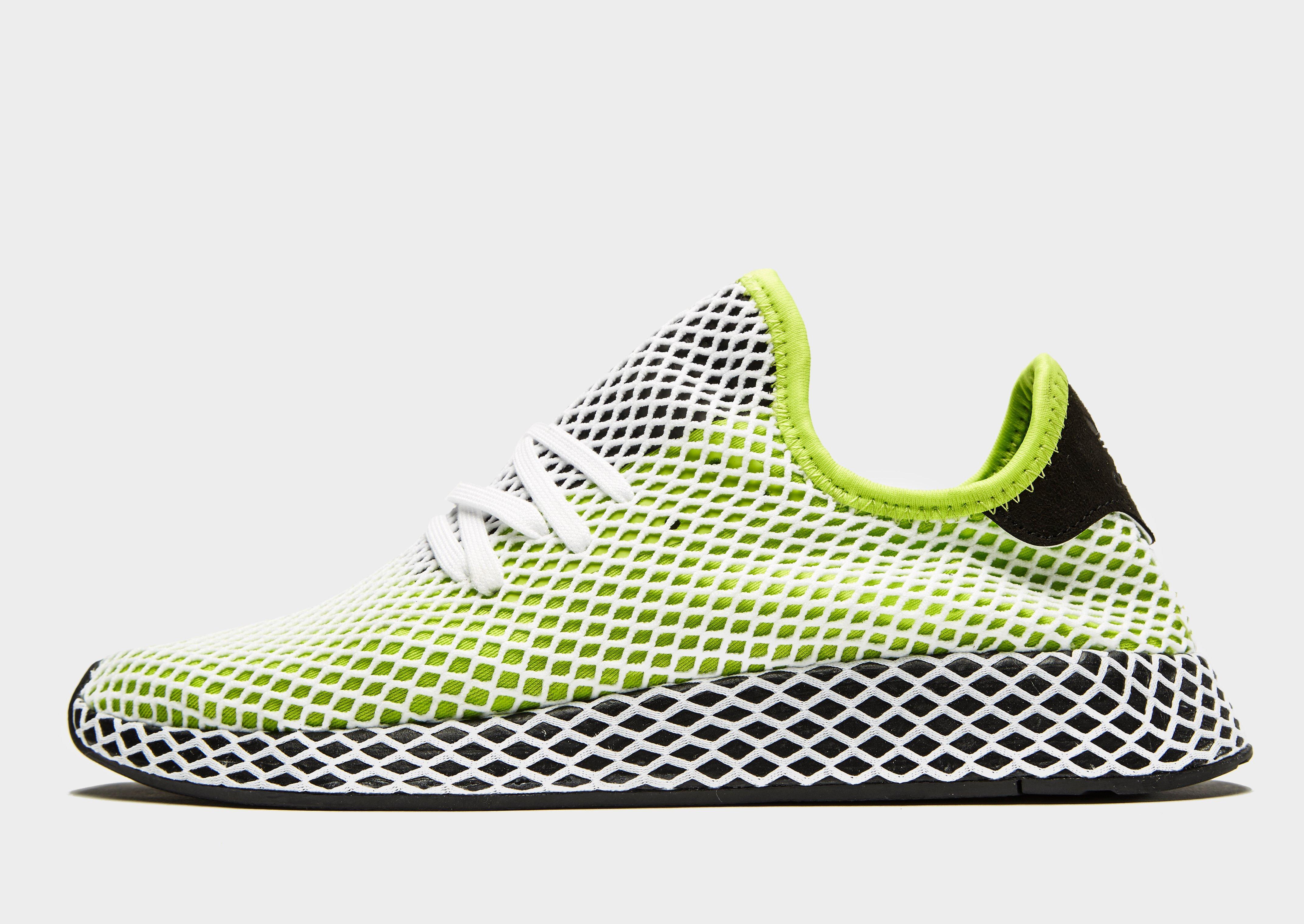 san francisco 2d14d 45ef4 Adidas Originals Deerupt in Green for Men - Lyst
