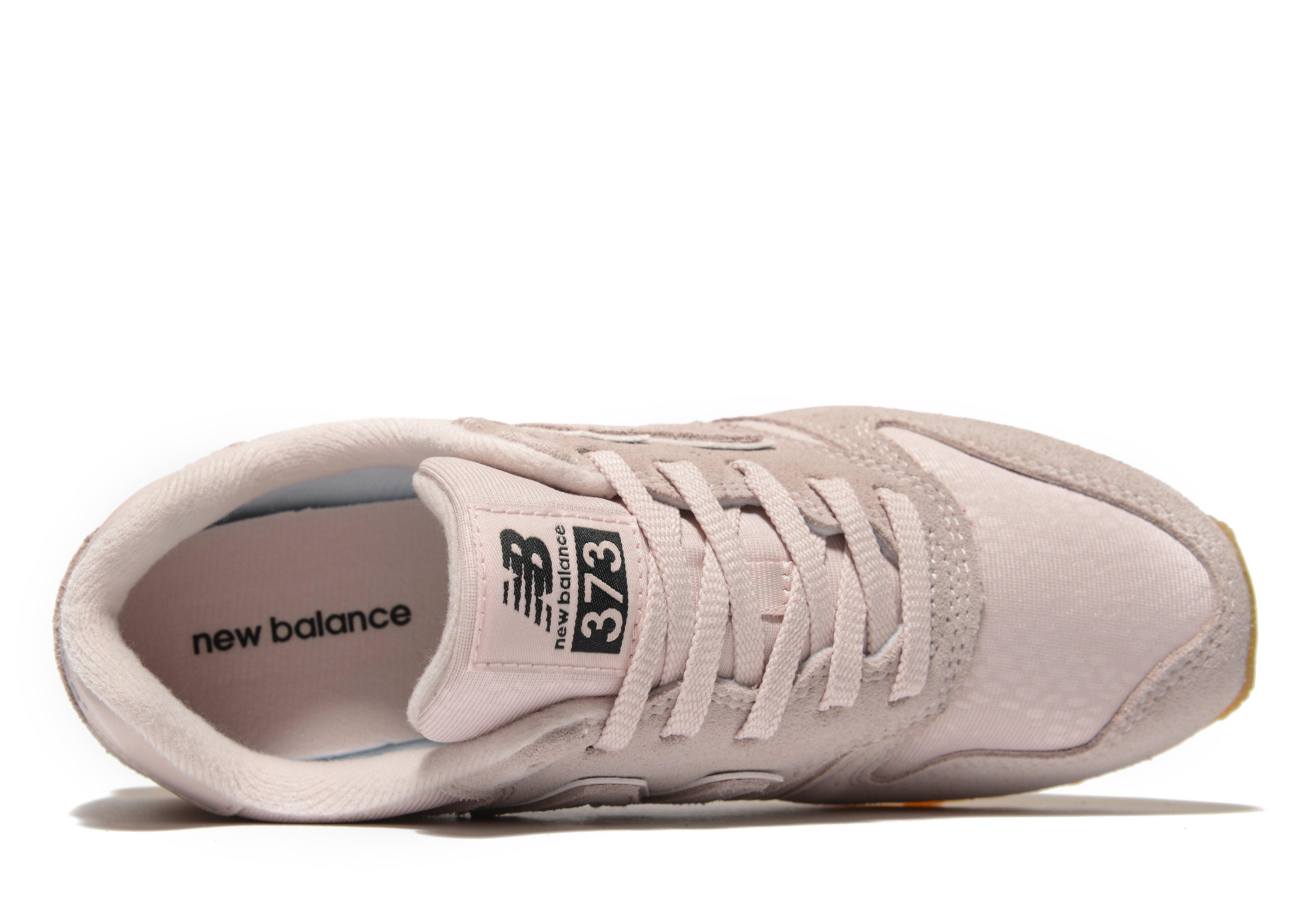 new balance 373 pastel pink