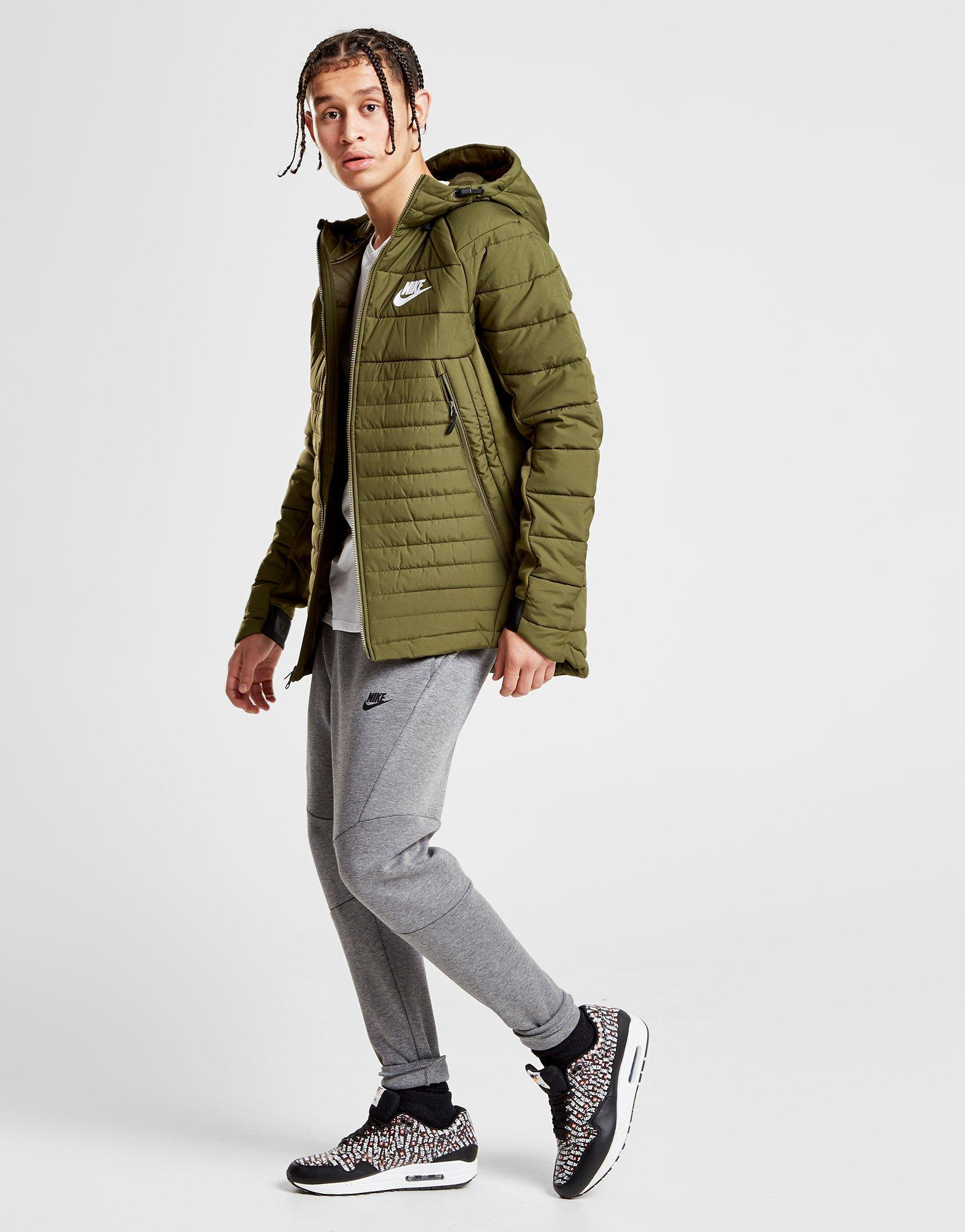 9df721aeb5ff Nike Synthetic Fill Hybrid Jacket in Green for Men - Lyst